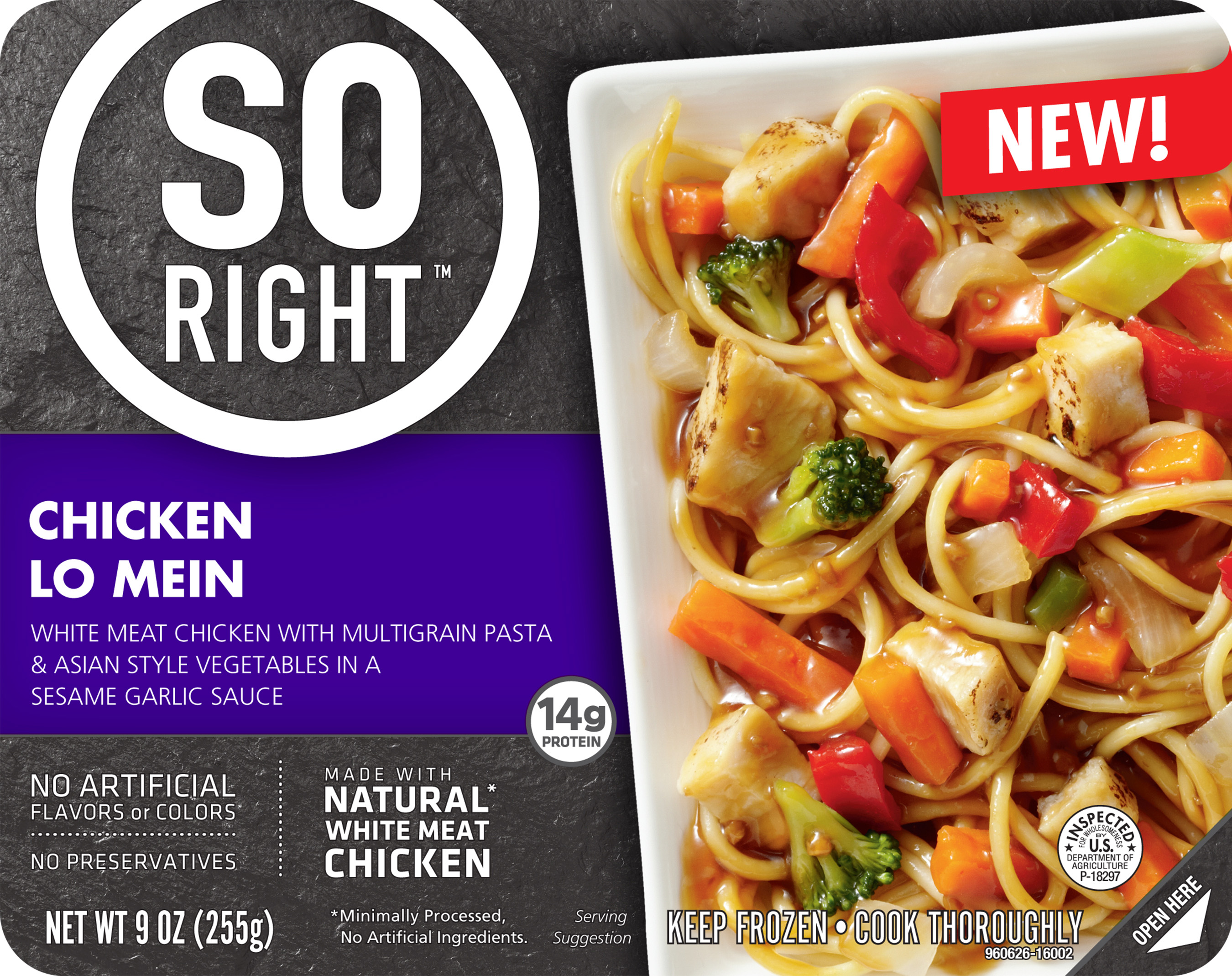 introducing so right u00ae frozen entr u00e9es  real ingredients and