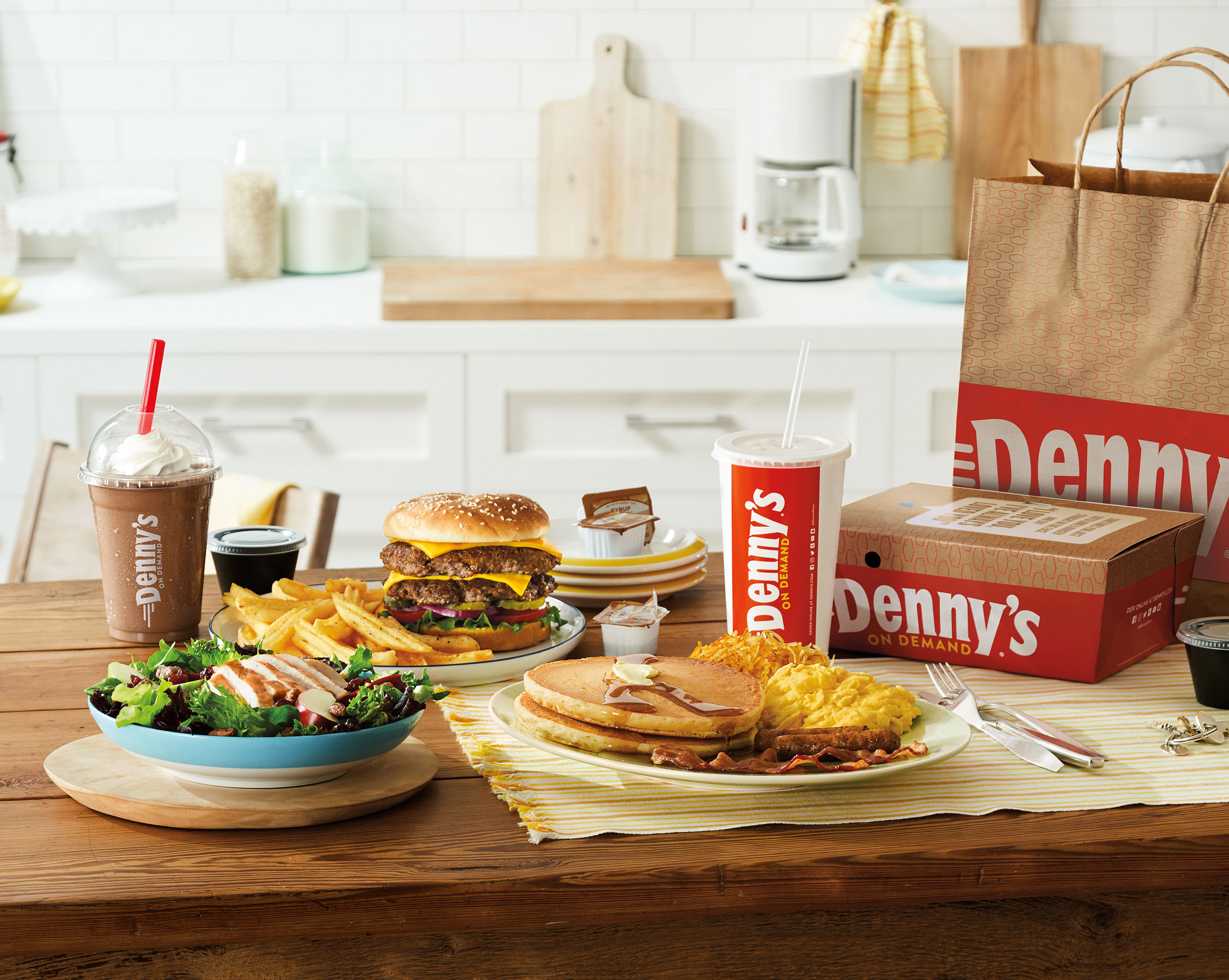 Denny's on Demand at Home