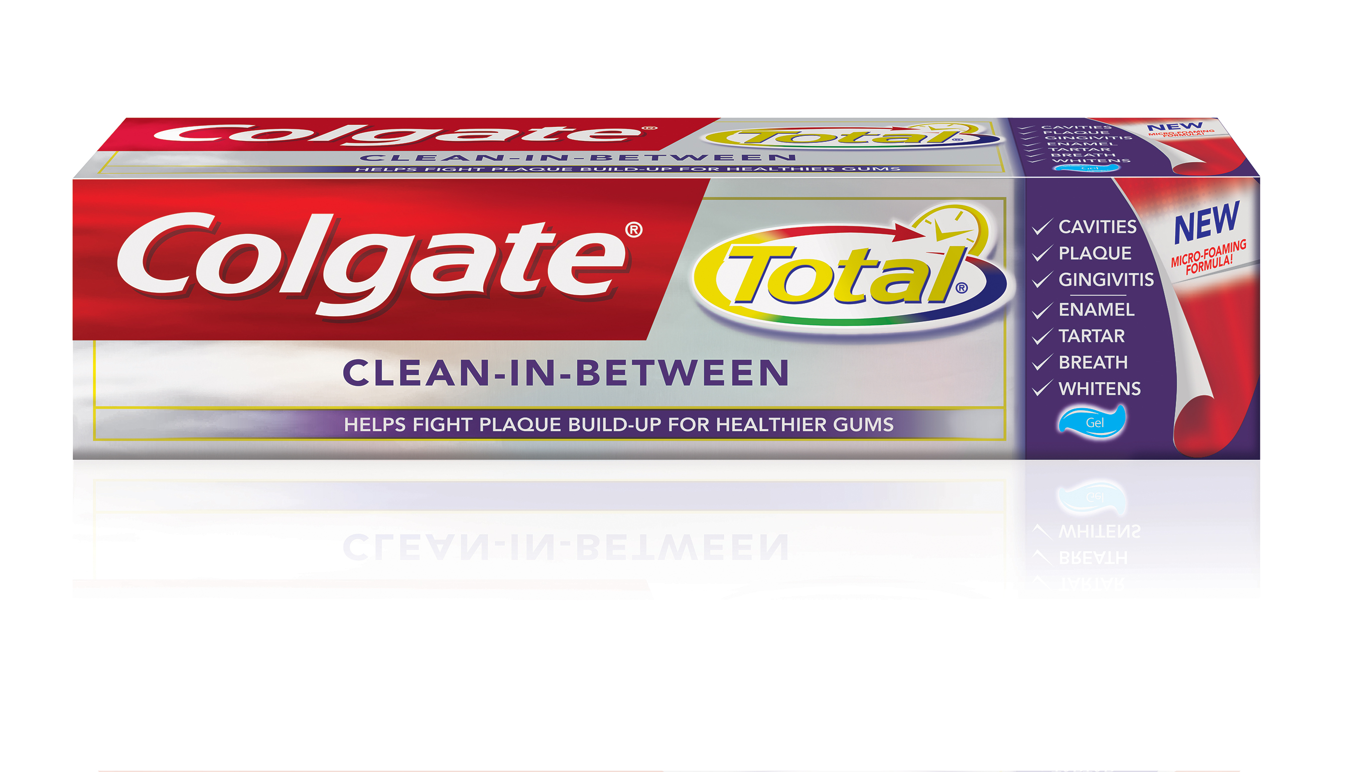New Clean-In-Between Toothpaste