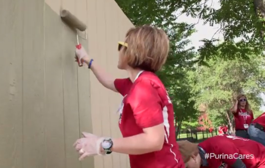 "Purina employees participate in ""PetCare Pride Day"""