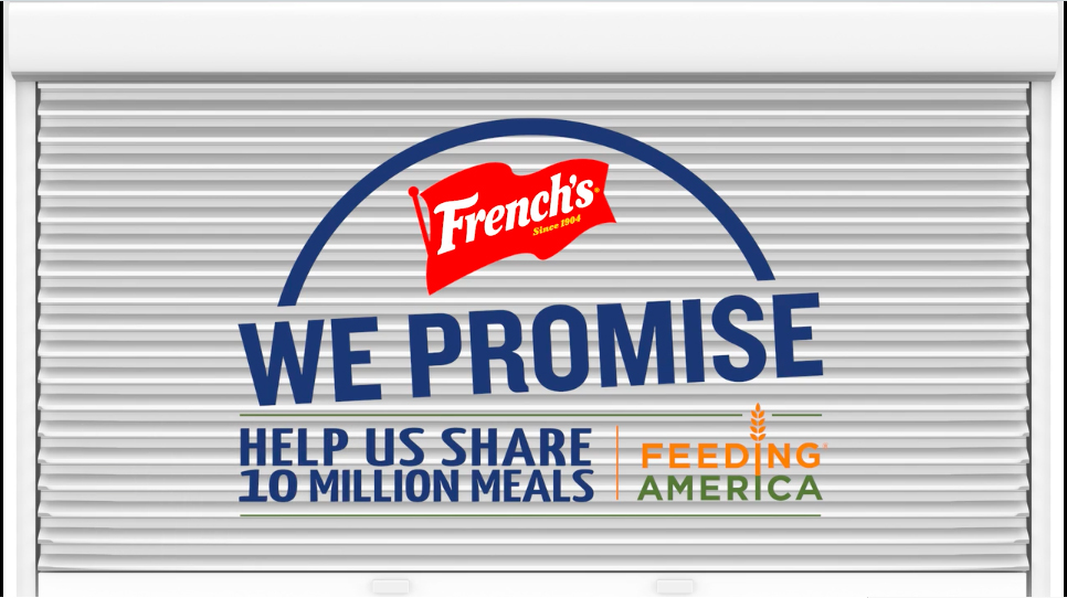 Feeding America® and French's® Partner to Mobilize Community To Share Millions of Meals With People Who Struggle with Hunger