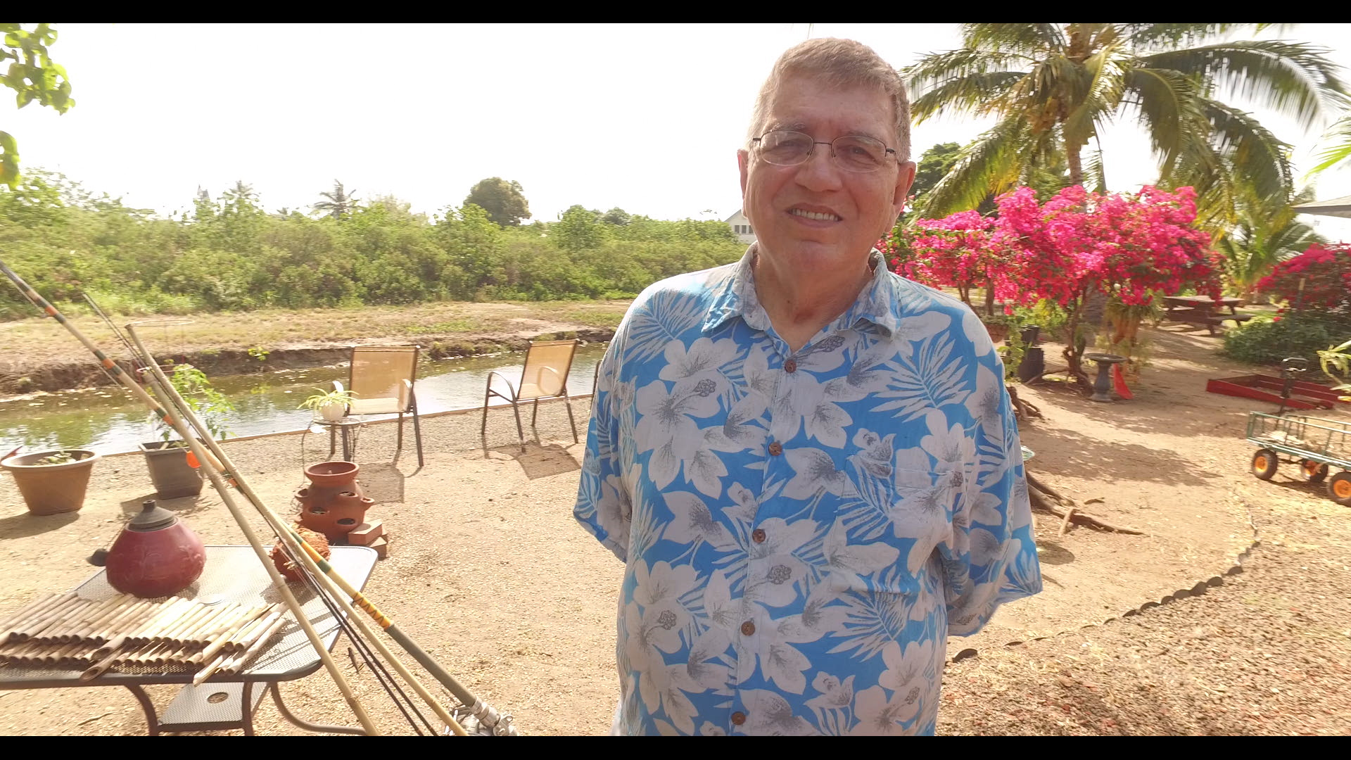 Bob enjoys fishing and woodworking in Hawaii and lives with COPD