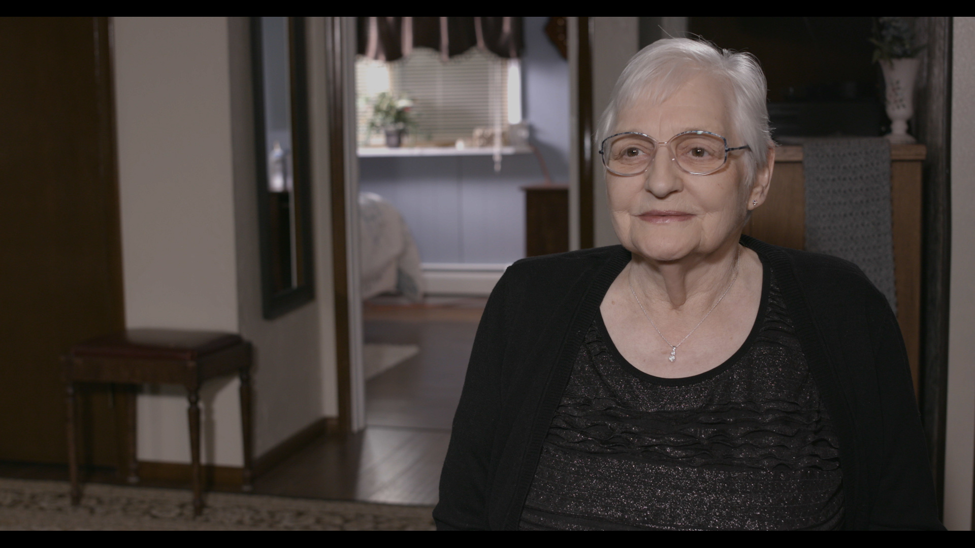 Mary enjoys visiting the Michigan lakes and lives with COPD