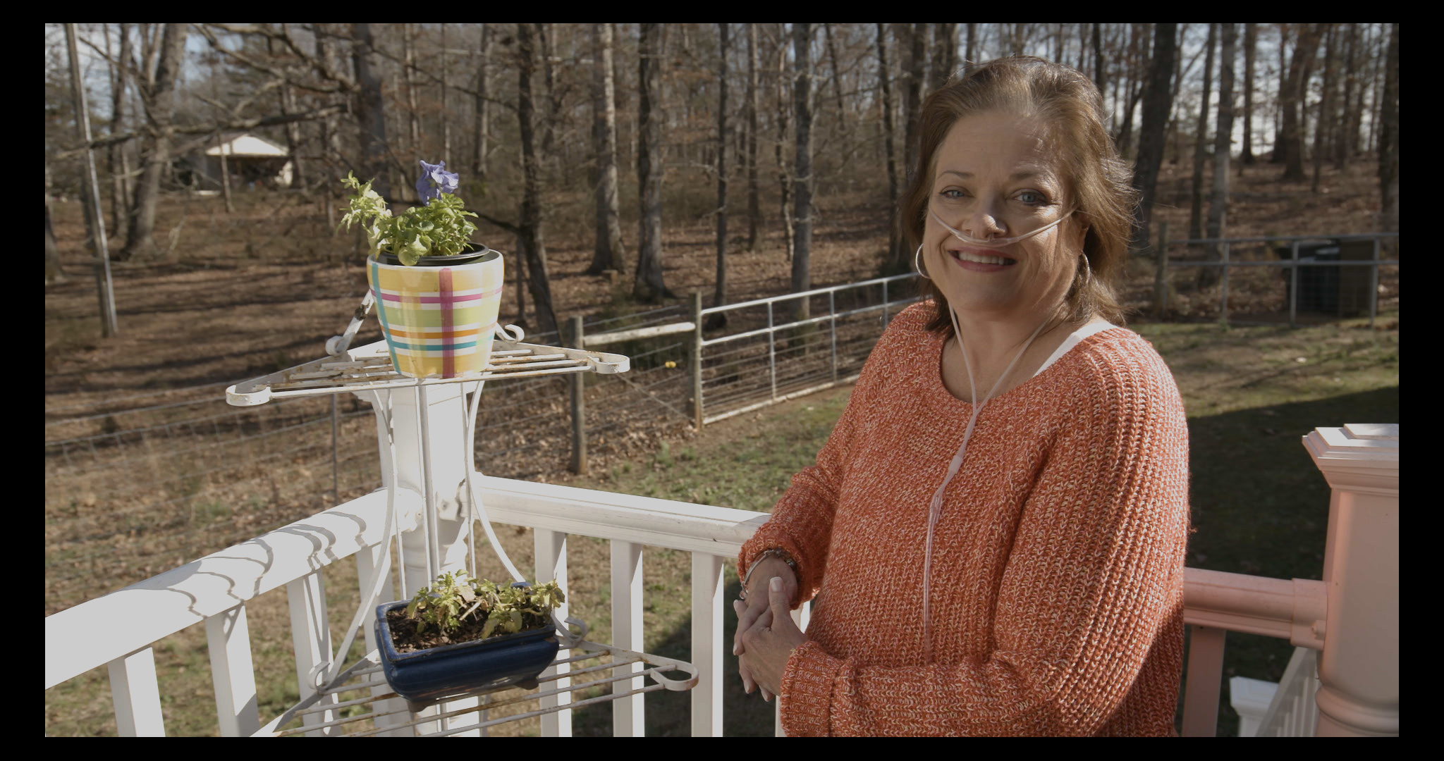 Tina plays the piano at her local church in South Carolina and lives with COPD
