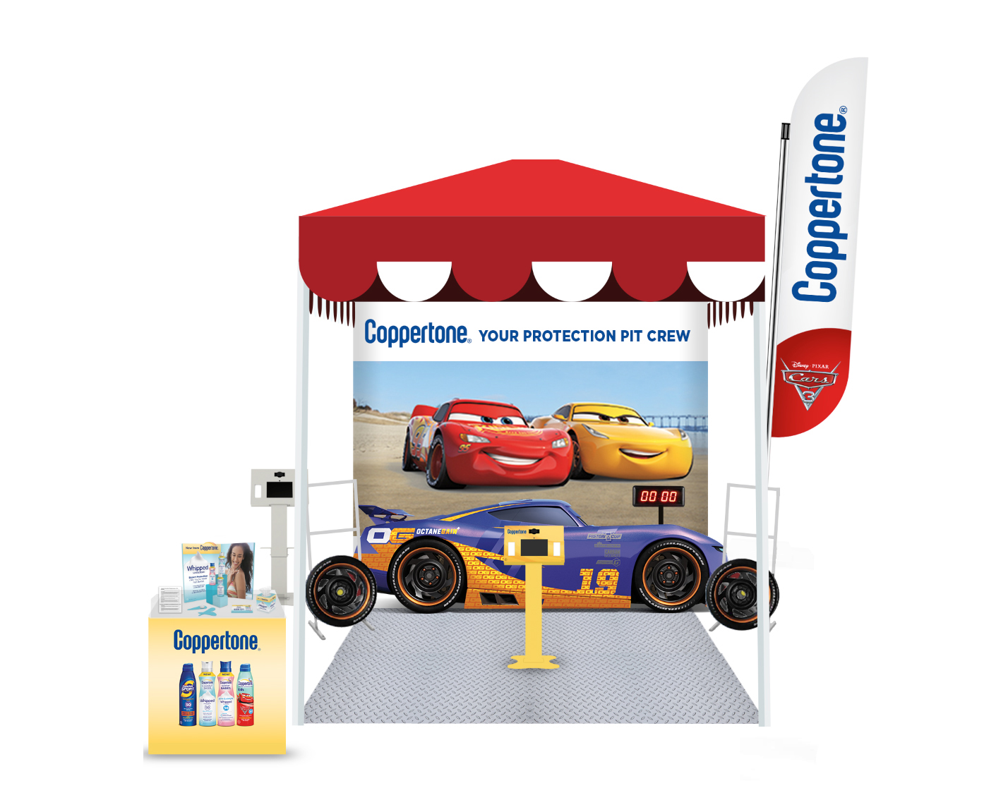 Coppertone® is gearing up for the big Cars 3 premiere on June 16th with nationwide sunscreen sampling and encouraging visitors to take part in race-themed activities!