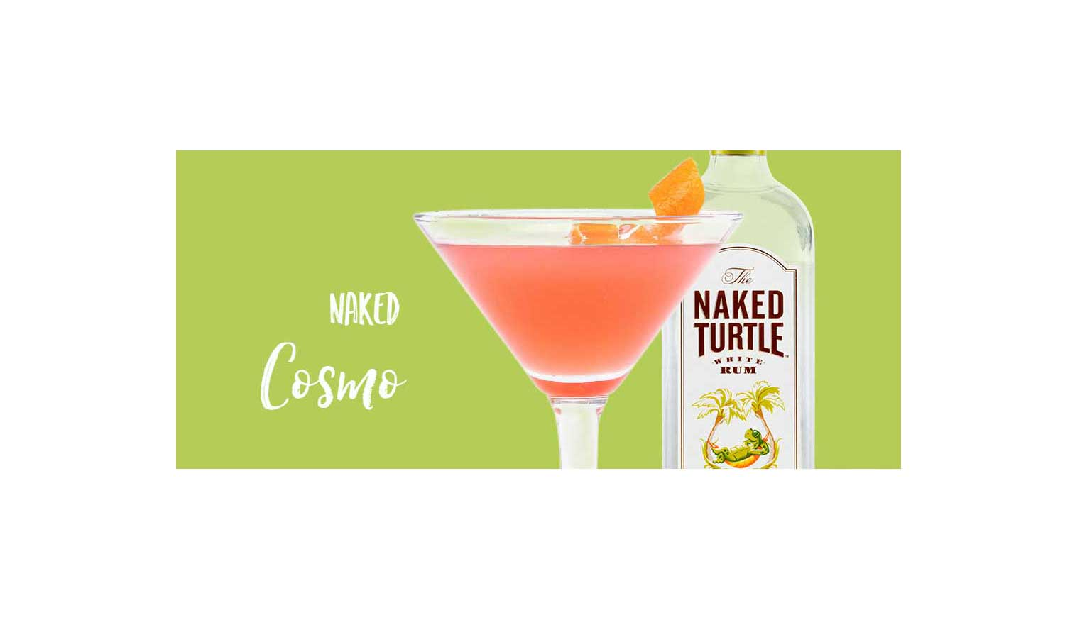 A better-than-vodka choice to help you find the cosmos within. Photo Credit: The Naked Turtle White Rum