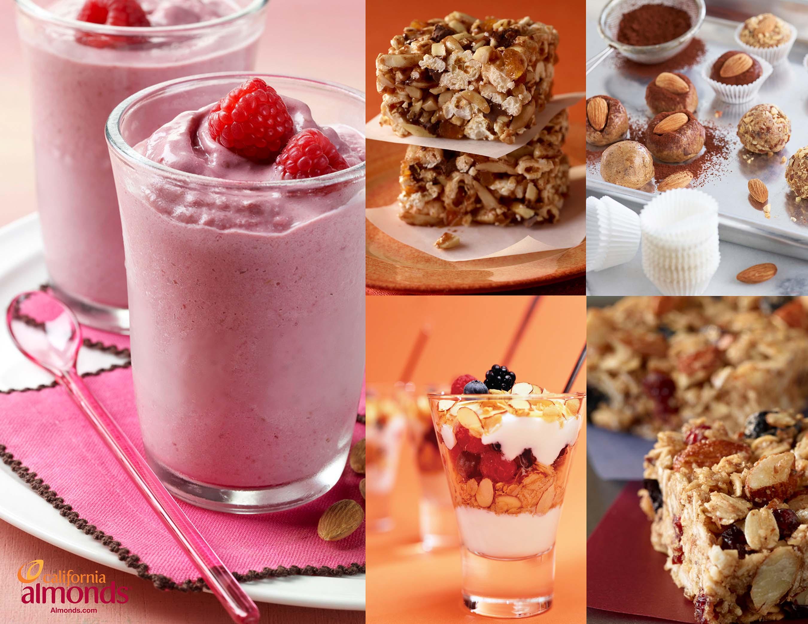 Almond Recipes by Anna
