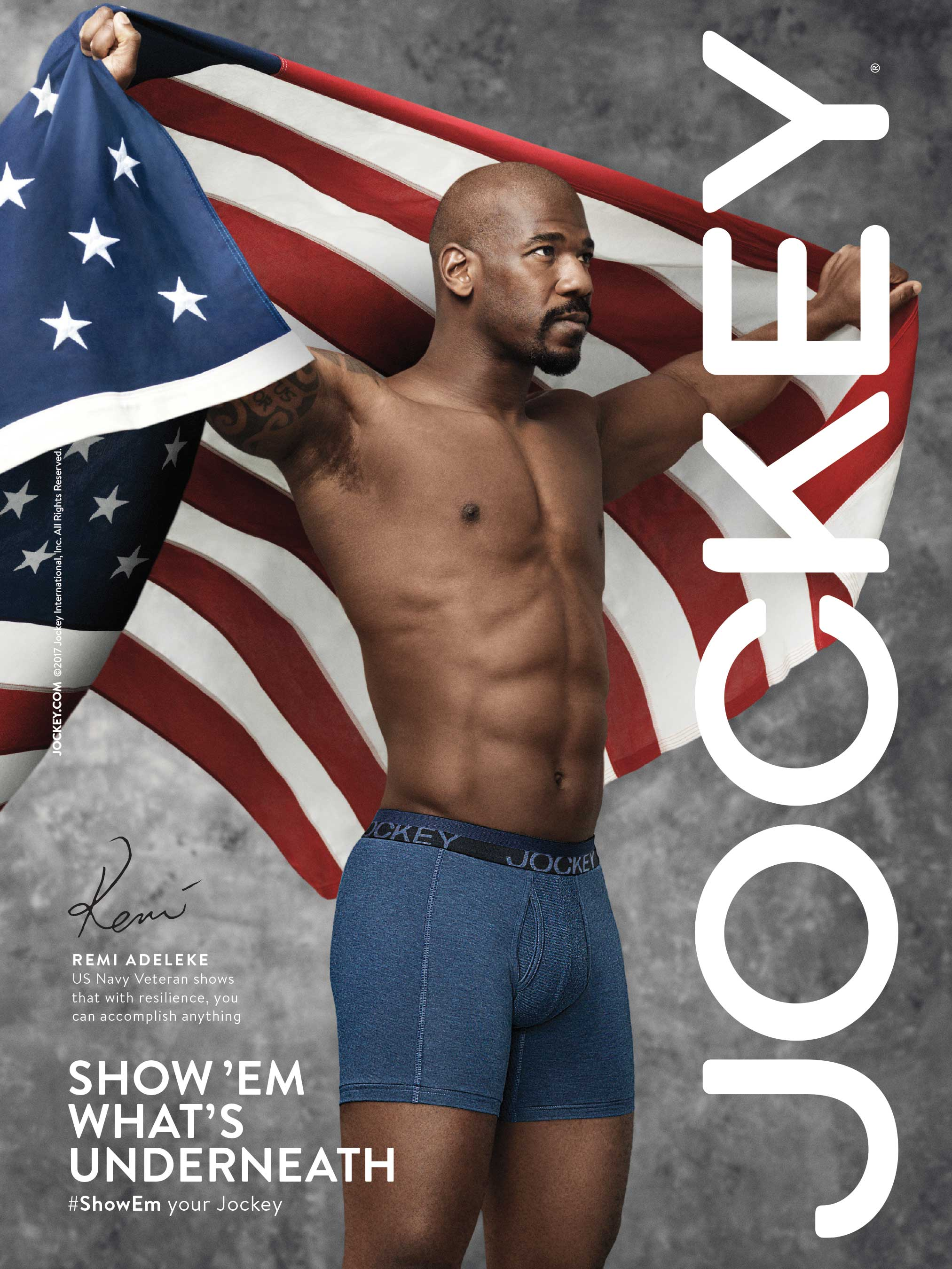 picture Jockey Underwear: Show You're Jockey' Campaign