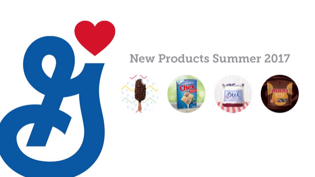 General Mills New Products Summer 2017