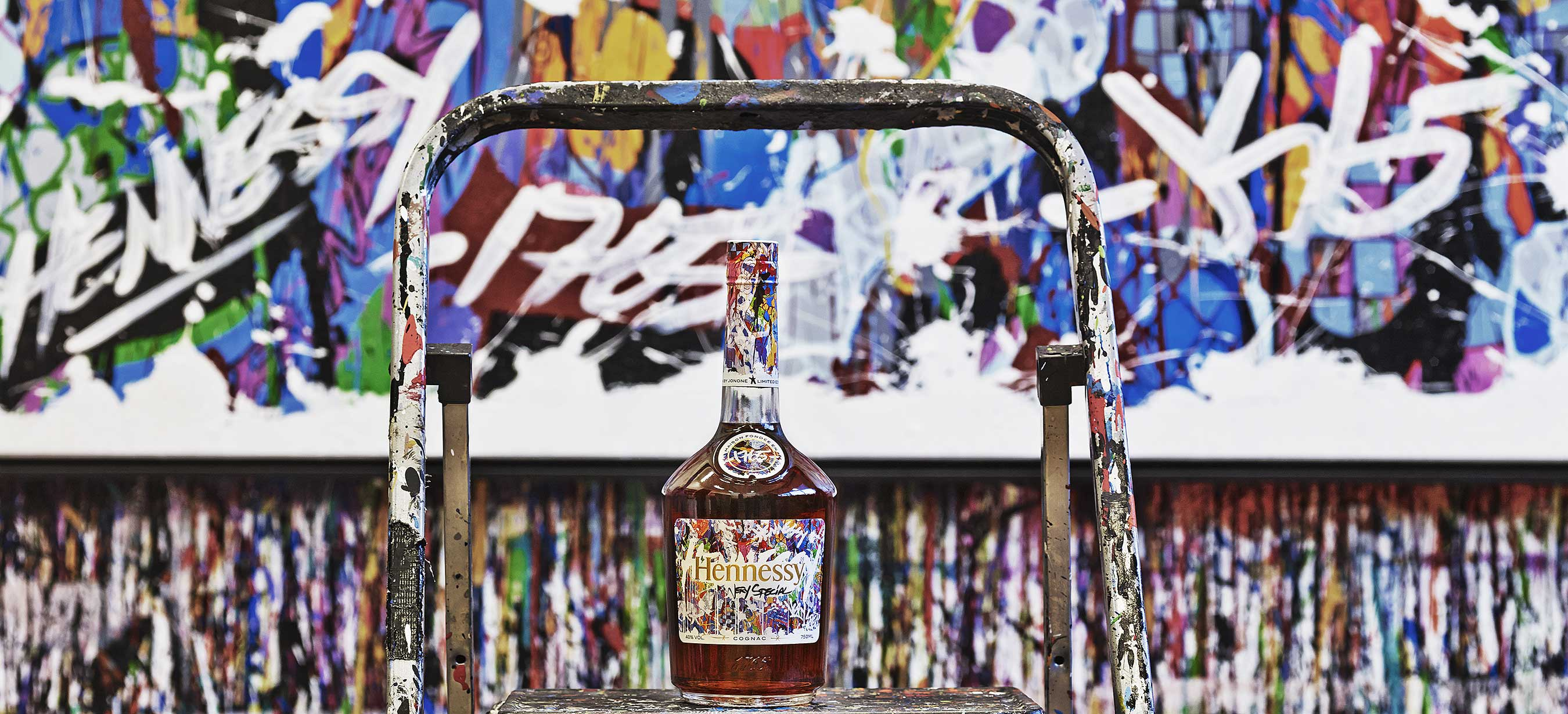 Artist JonOne Brings Color to the Mix