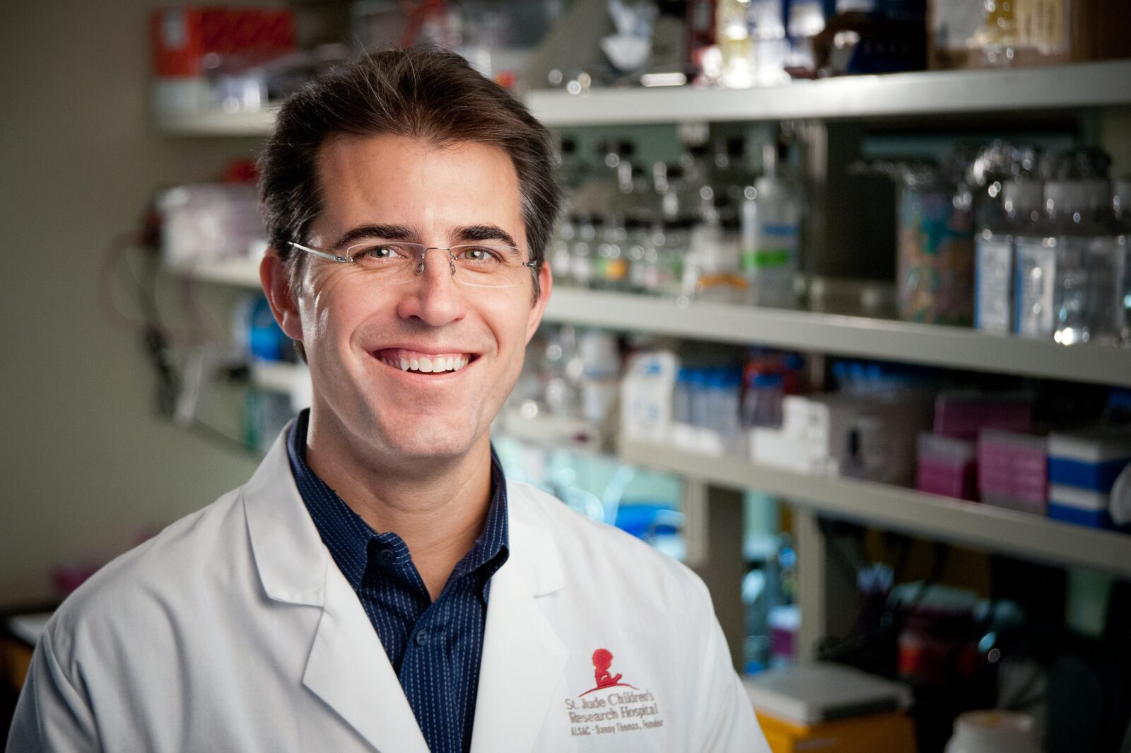 Corresponding author Michael Dyer, Ph.D., chair of the St. Jude Department of Developmental Neurobiology and a Howard Hughes Medical Institute investigator