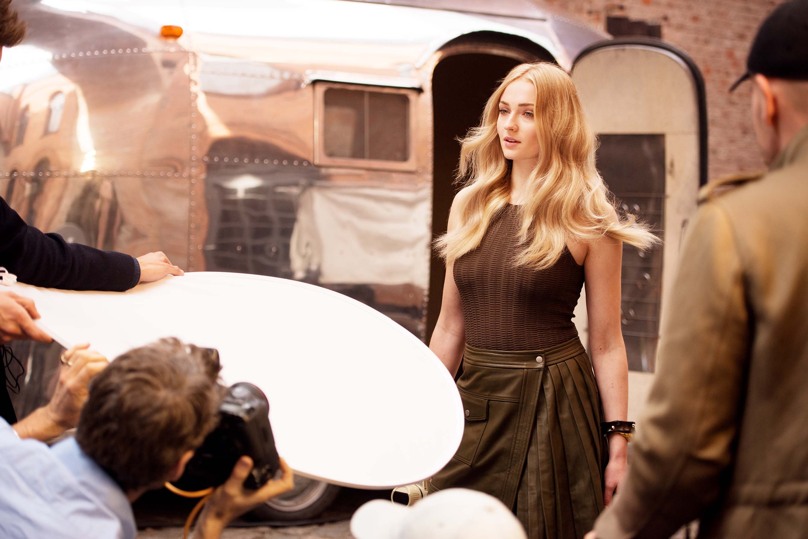 Behind The Scenes with Wella Professionals Global Ambassador, Sophie Turner