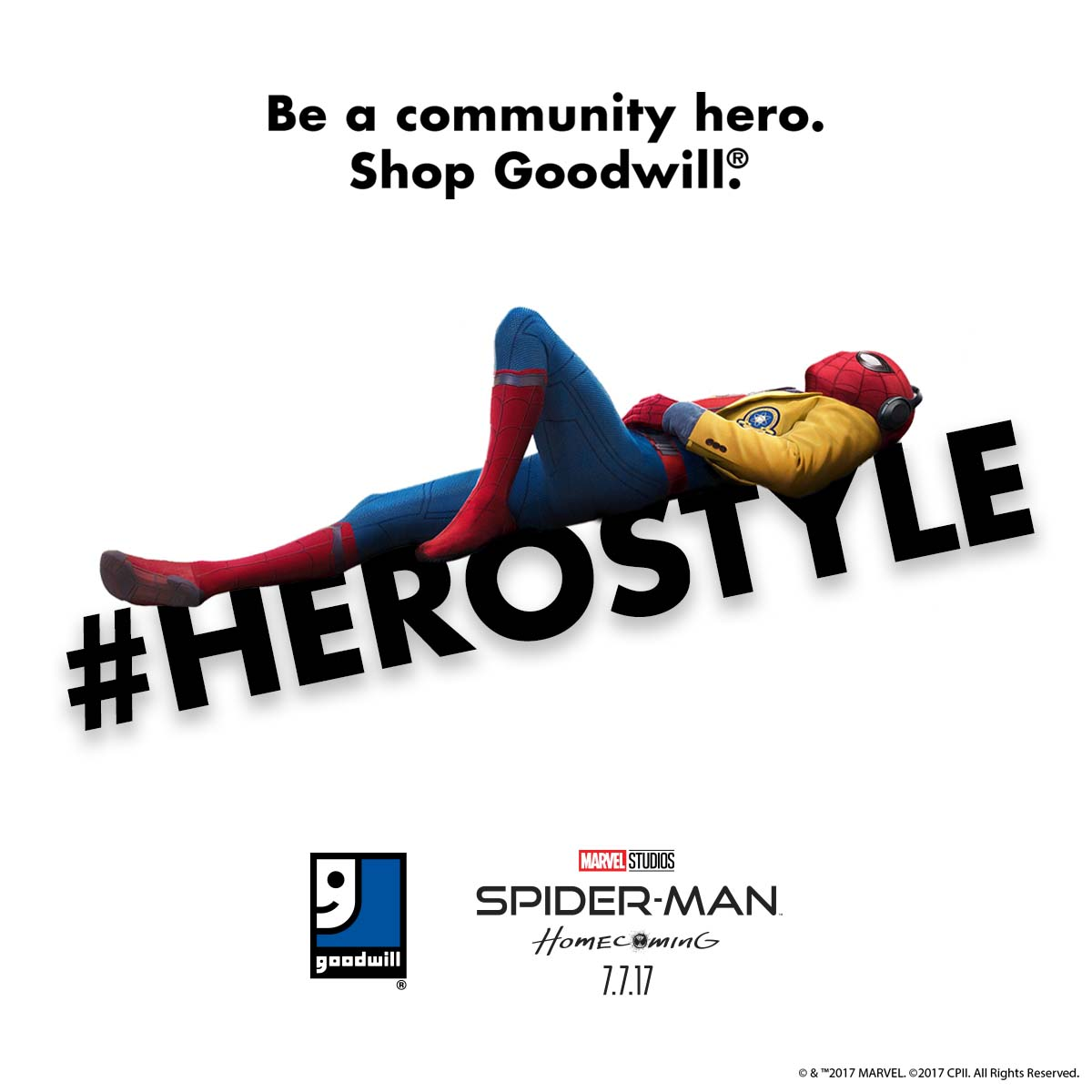 Shop Goodwill! Show your #HeroStyle and help build a brighter future for your community.