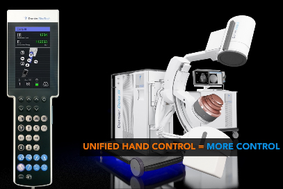 Enhanced EFFICIENCY: Additionally, the Delta III increases ease of use and improves time saving workflow with its patent protected Unified Hand Control with precise fingertip control of the lithotripter, table and X-ray C-arm movements.