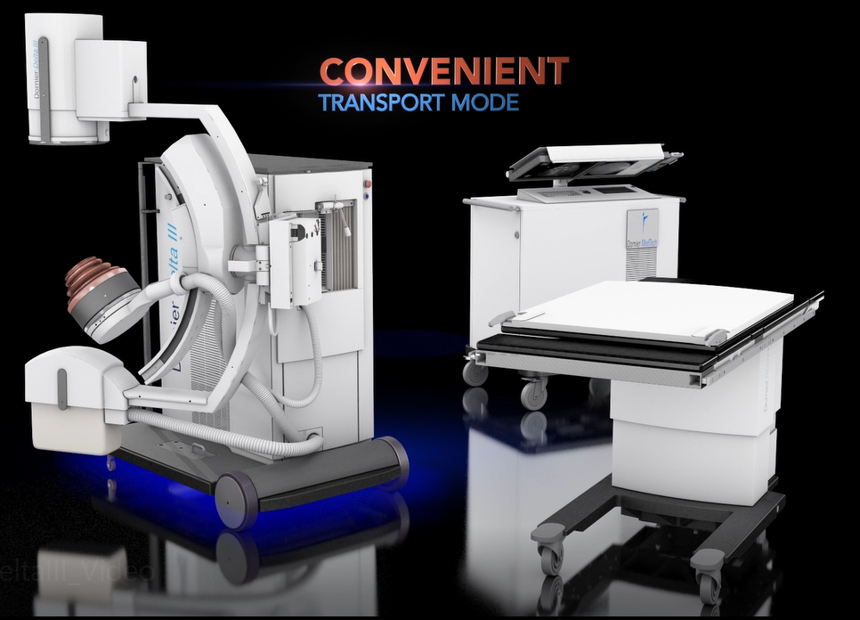 Convenient Transport Mode: Move your unit compactly and easily in, out, and within the facility.
