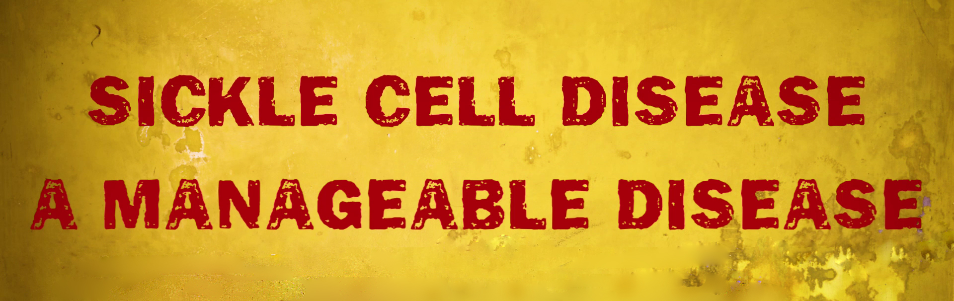 Sickle Cell Disease: A Manageable Disease Hero