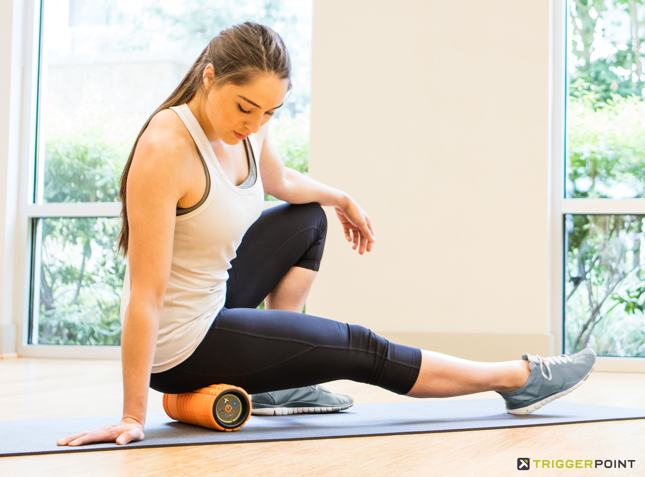 Foam Roll and Release with GRID Vibe