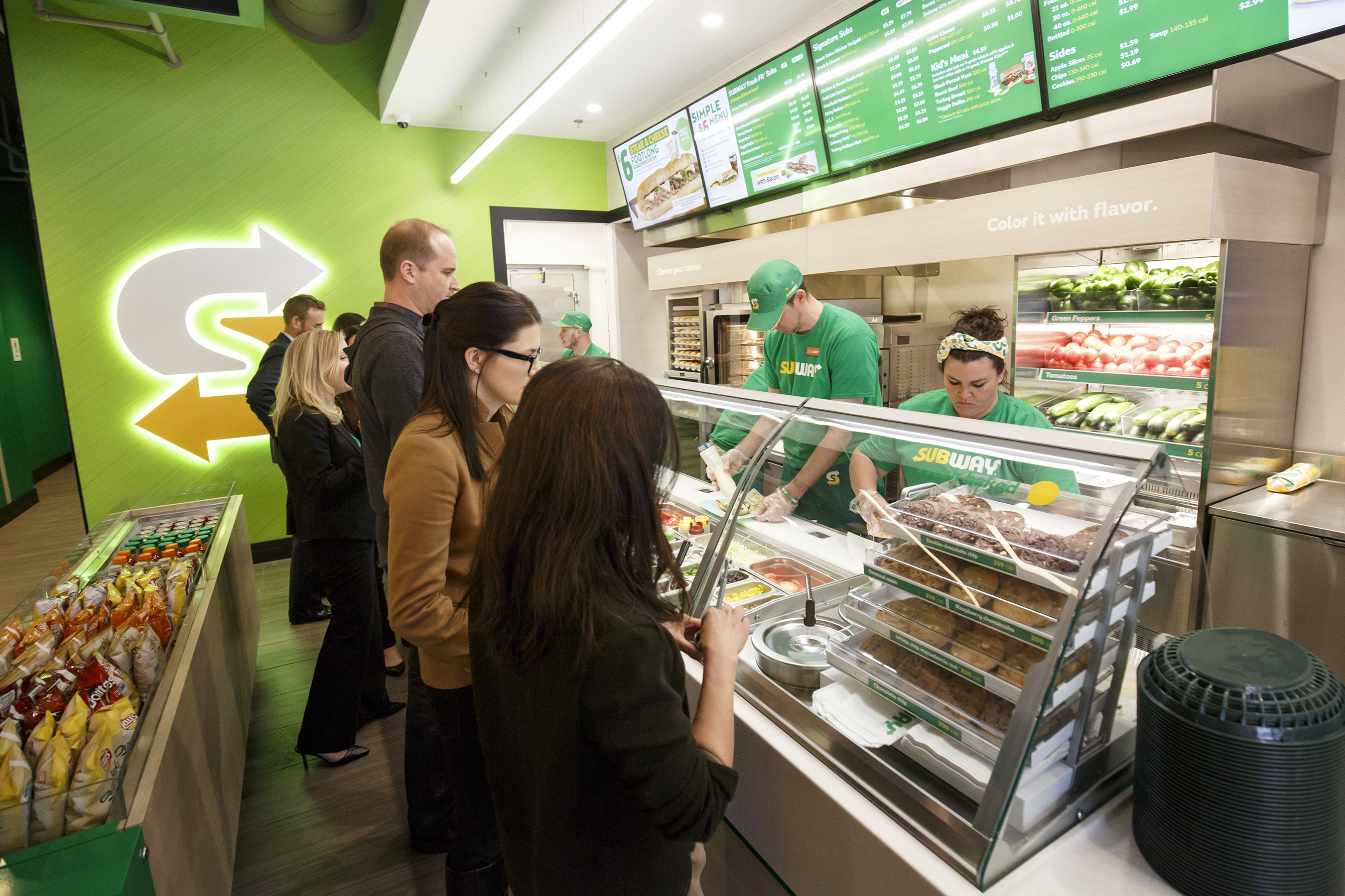 The new restaurant design is the next phase of Subway's evolution.