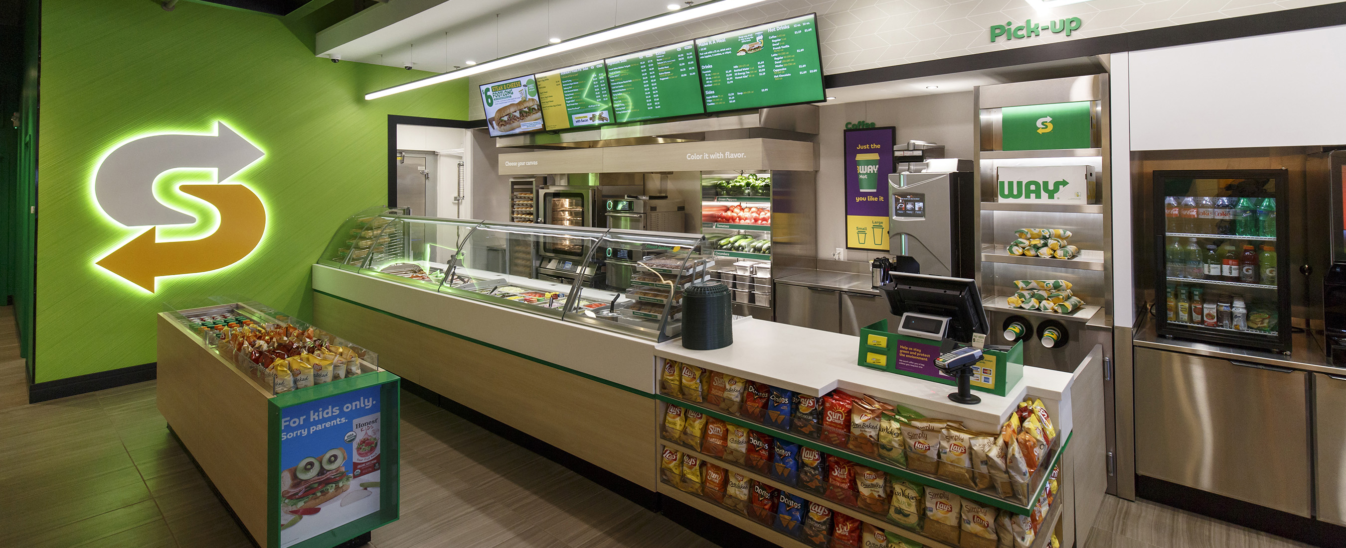 Subway brings 'fresh forward with new restaurant design