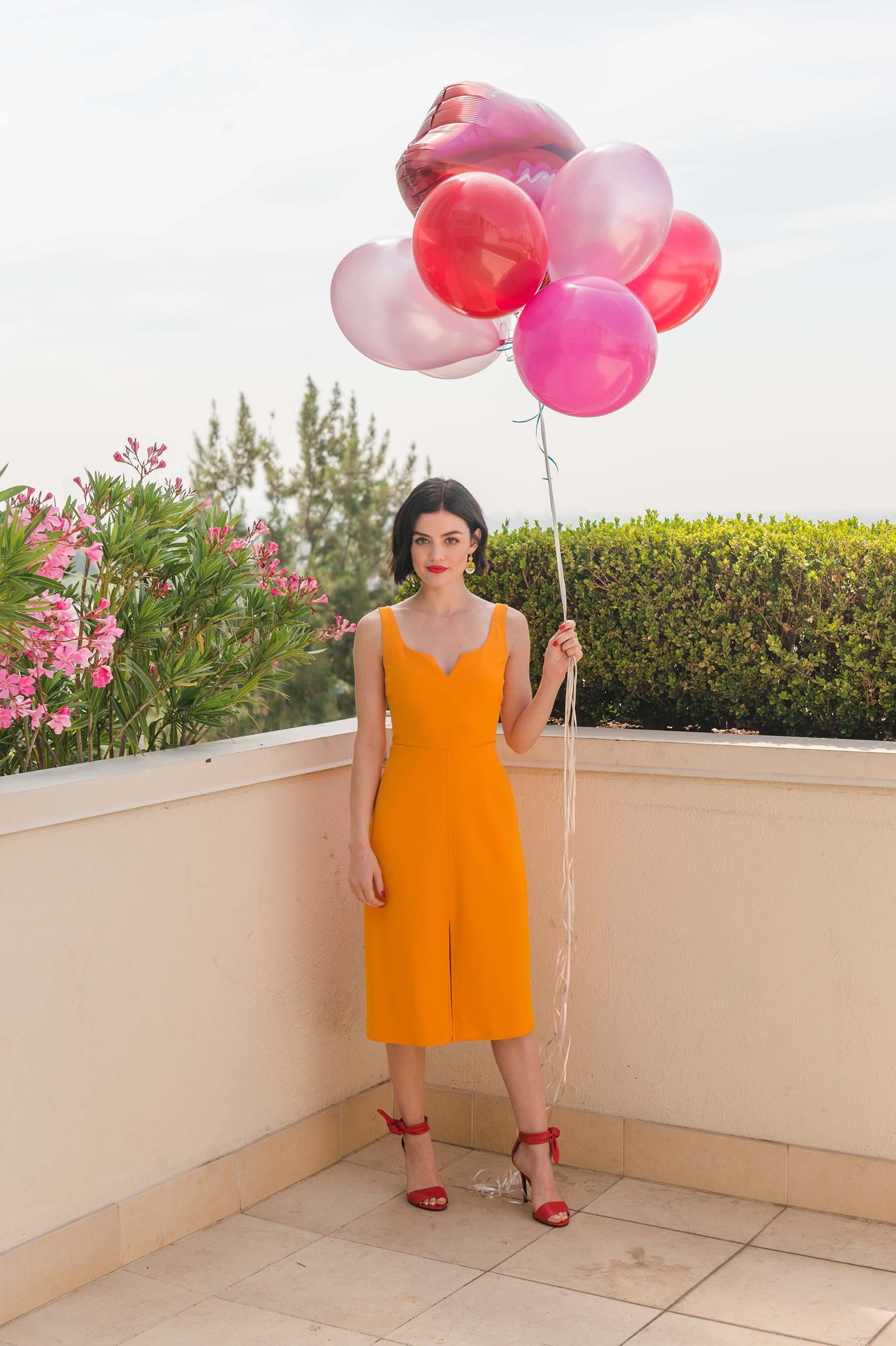 Brand Ambassador Lucy Hale celebrates National Lipstick Day