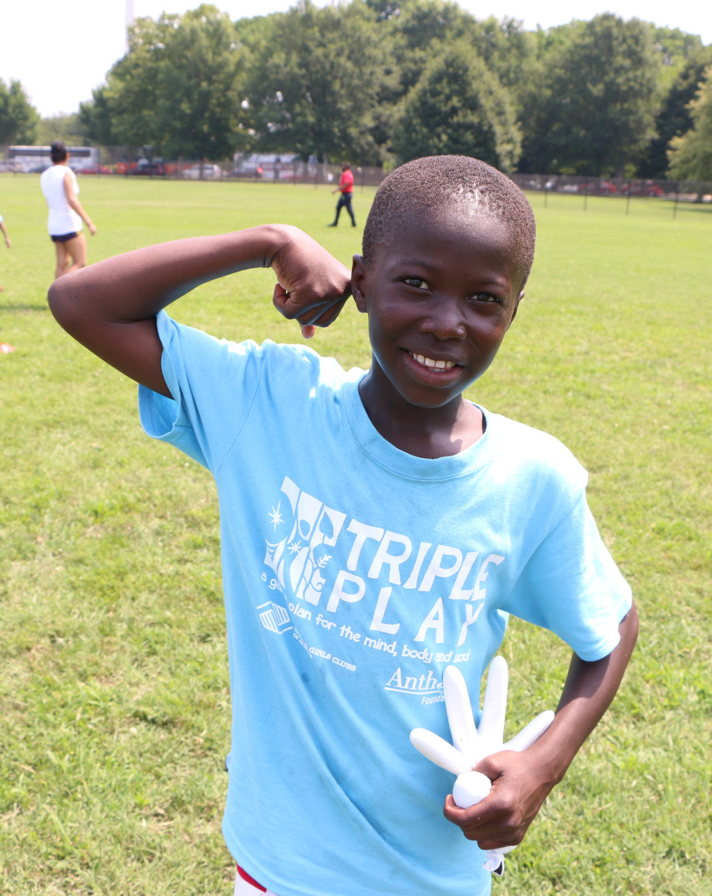 Boys & Girls Clubs of America Educate Youth Nationwide on Healthy Habits to Develop a Strong Mind, Body and Soul and Achieve Goal of 5 Million Minutes of Activity on Triple Play Day