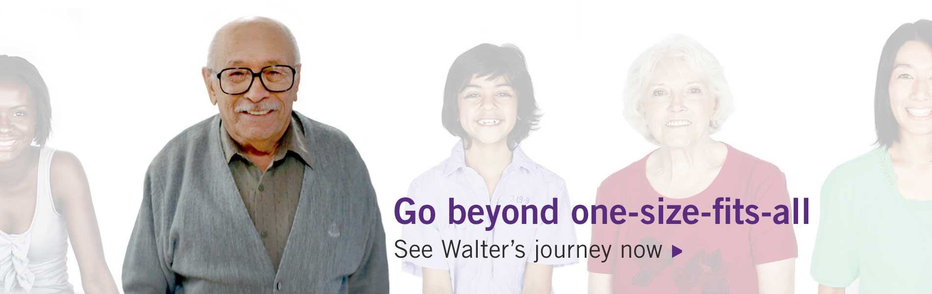 See Walter's journey now