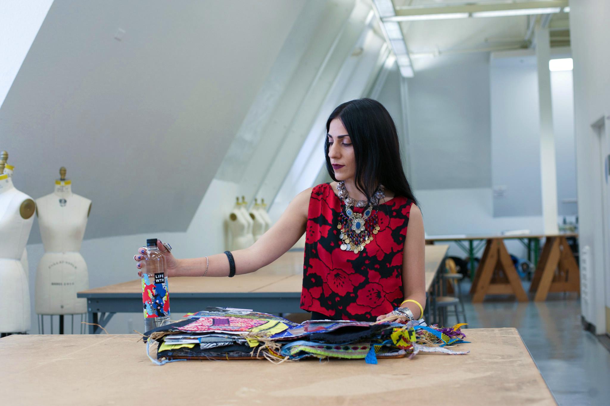LIFEWTR Series 3 Artist Ghazaleh Khalifeh