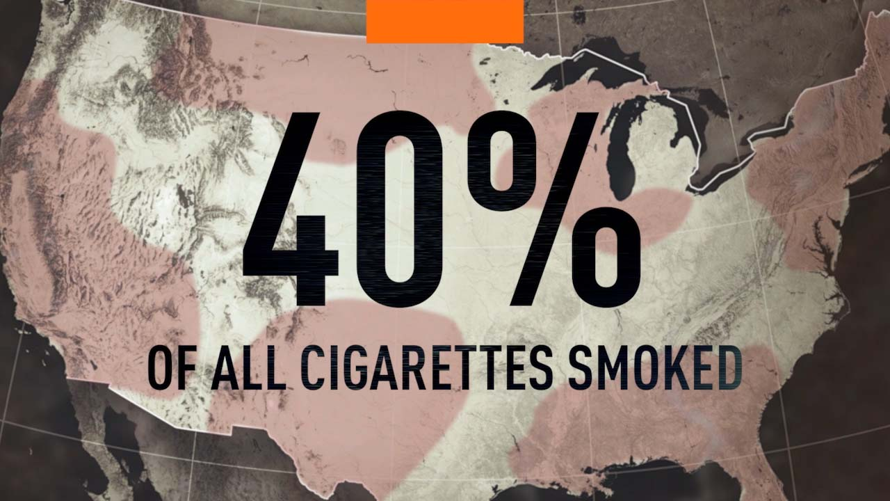 Fact: People with any mental health or substance abuse issues account for 40% of the cigarettes smoked in the U.S.