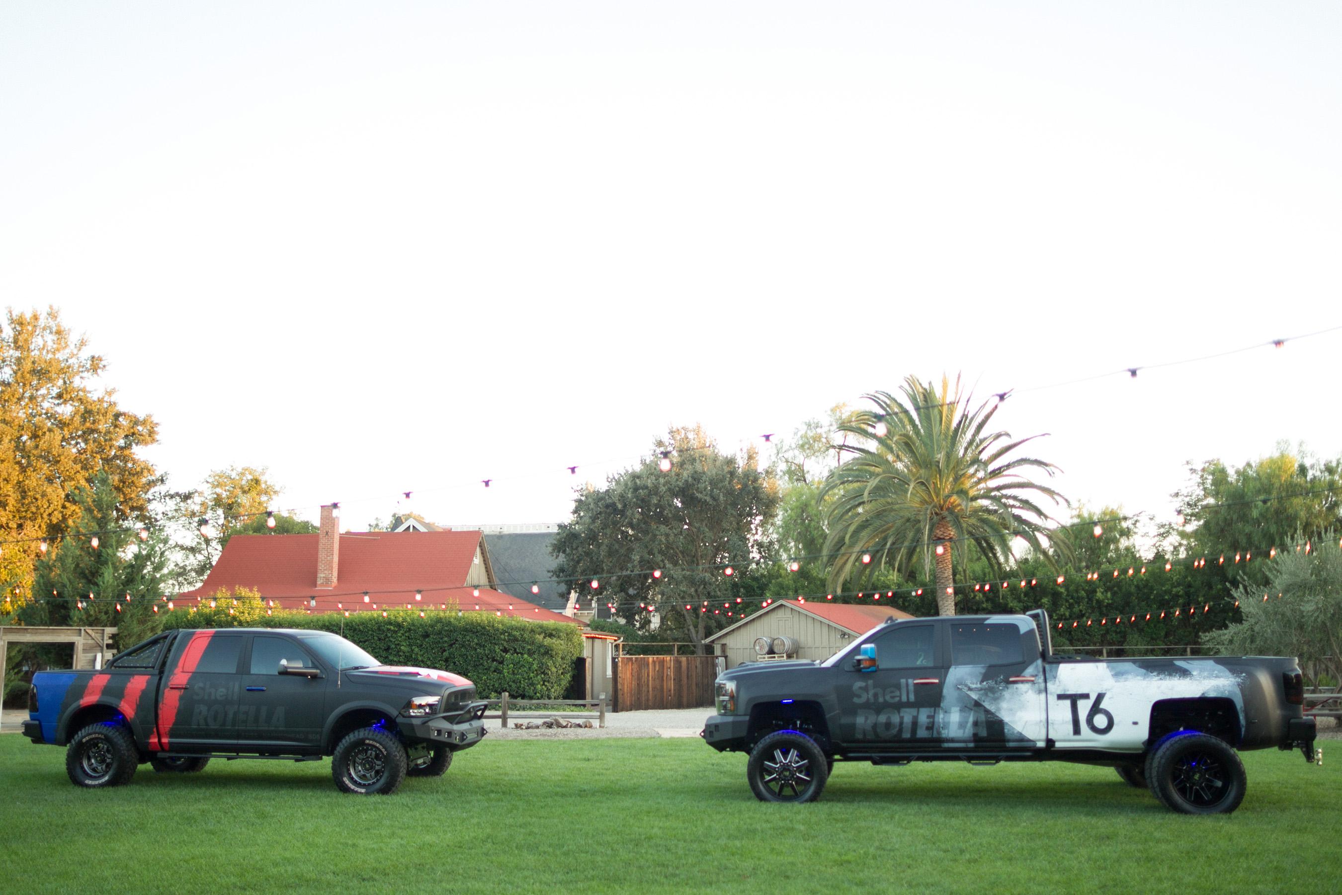 Tommy Pike Customs Shell ROTELLA 'Pickup Pride' Trucks