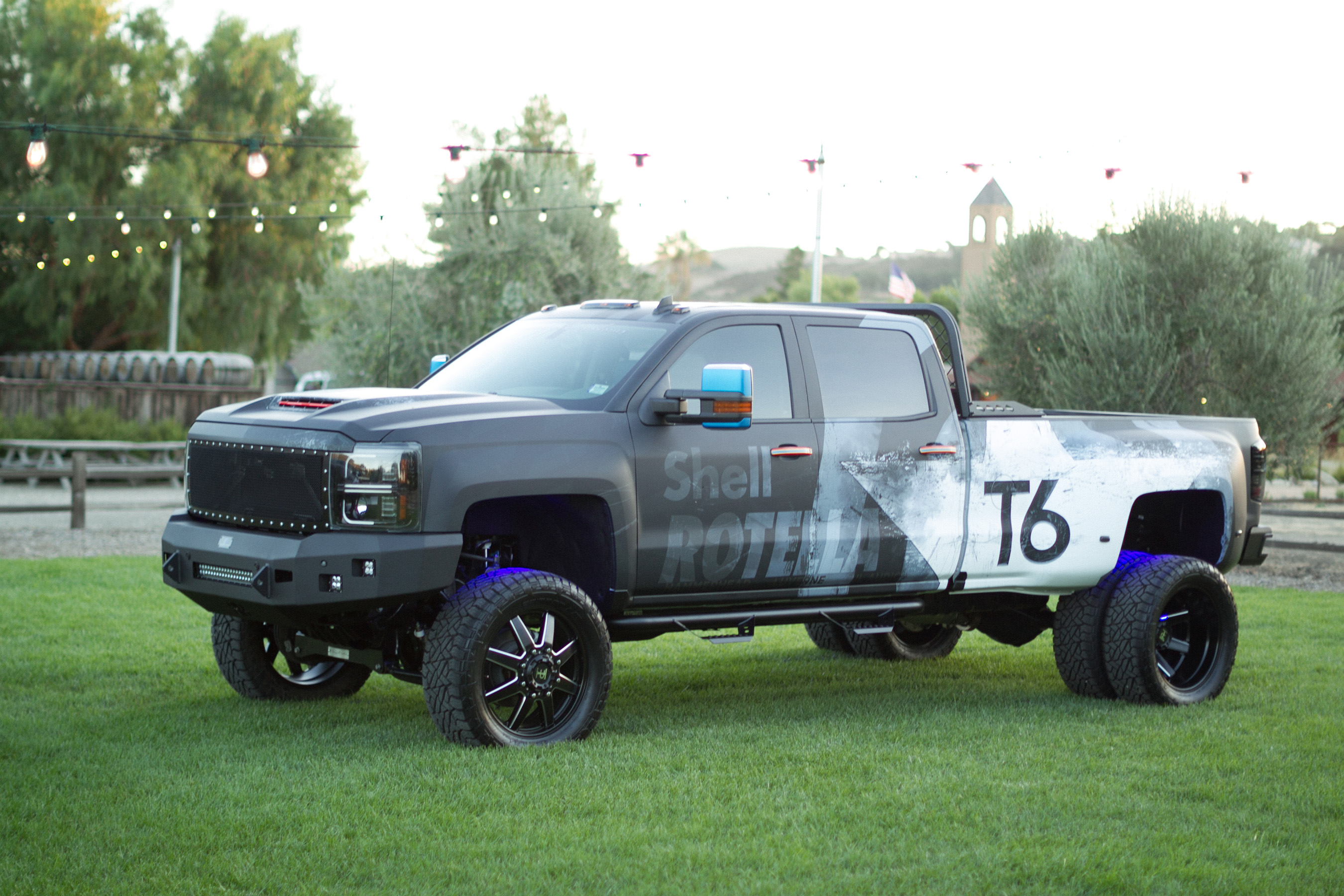 Tommy Pike Customs Shell ROTELLA T6 Modified ?Pickup Pride' Pickup Truck