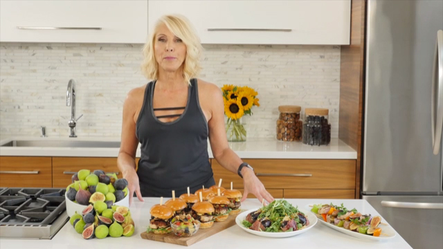 Healthy Grilling Ideas Featuring Valerie Waters and California Figs
