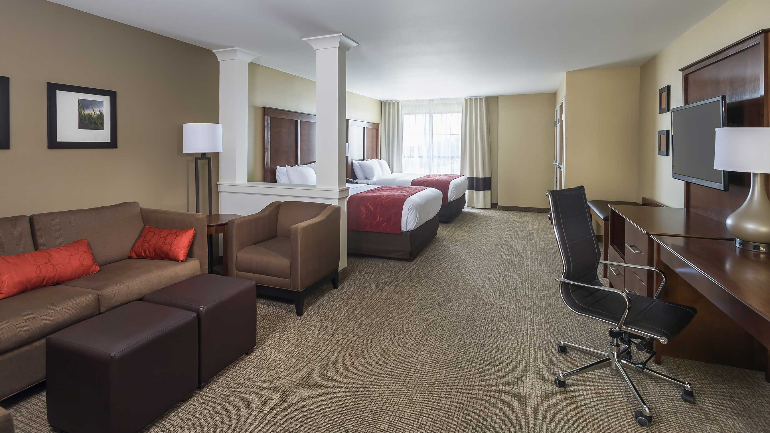 Enjoy your stay in one of the Comfort Hotels guest rooms!