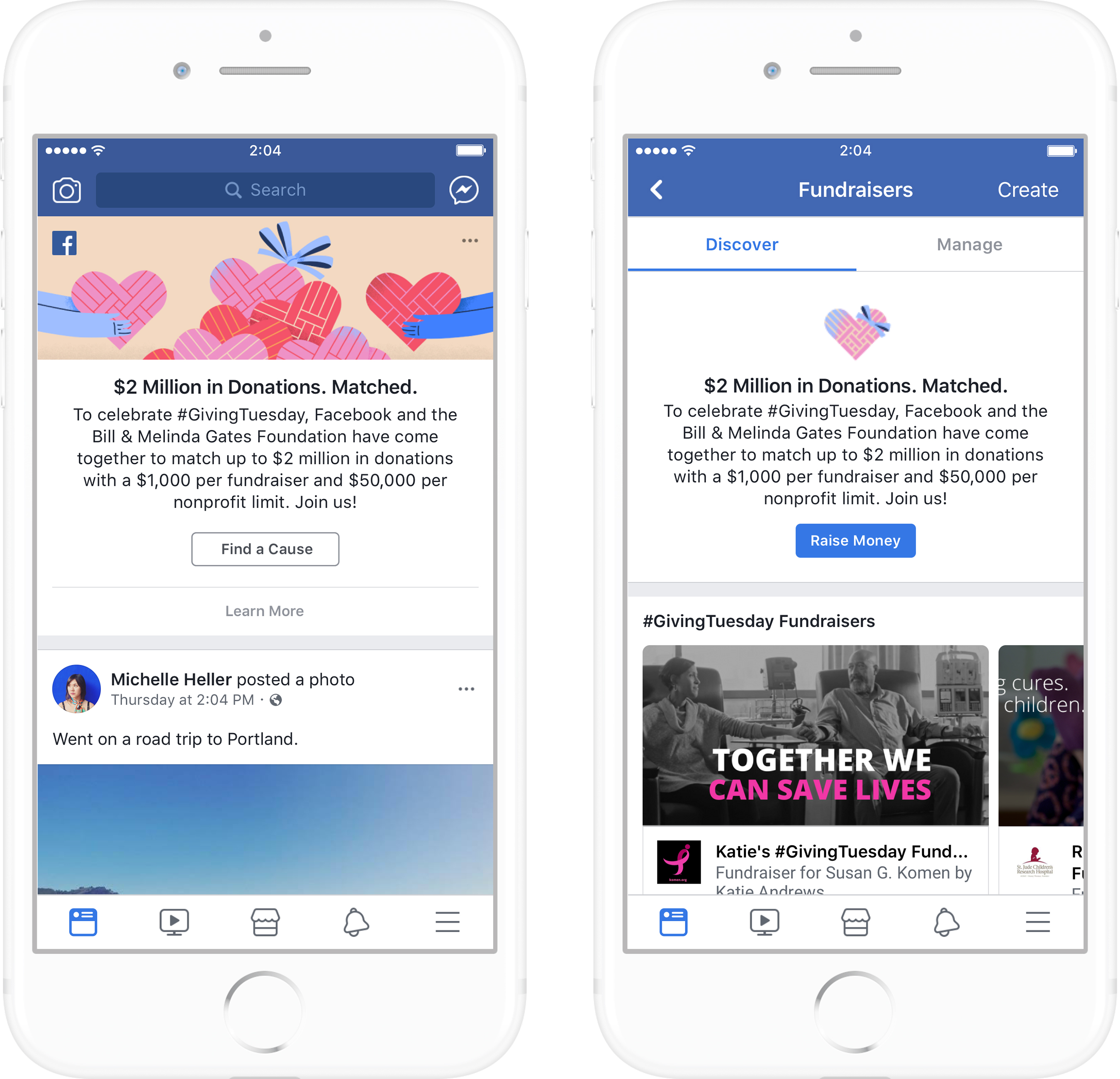 Facebook Giving Tuesday 2017