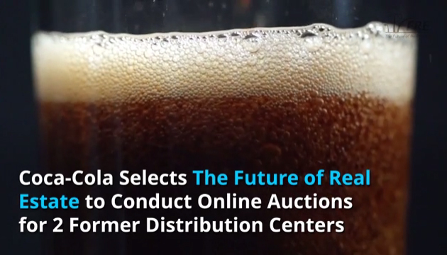 Coca-Cola Selects The Future of Real Estate (FRE.com) to Conduct Online Auctions for 2 Former Distribution Centers