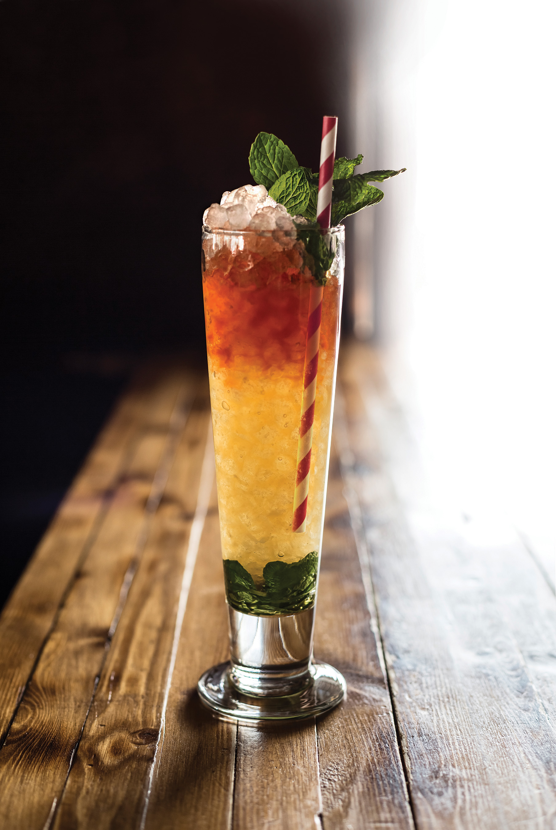 Swizzle sticks developed the swizzle as a category of cocktail, earning its name not by ingredients or flavors, but from the swizzle motion of mixing the drink.