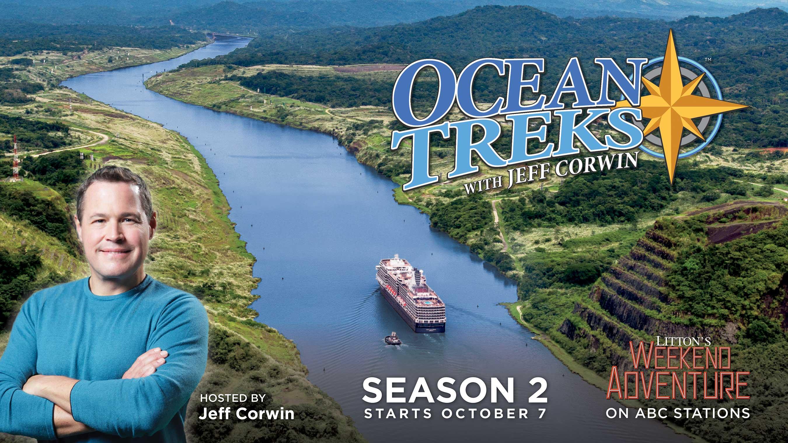 Ocean Treks Poster – Season 2