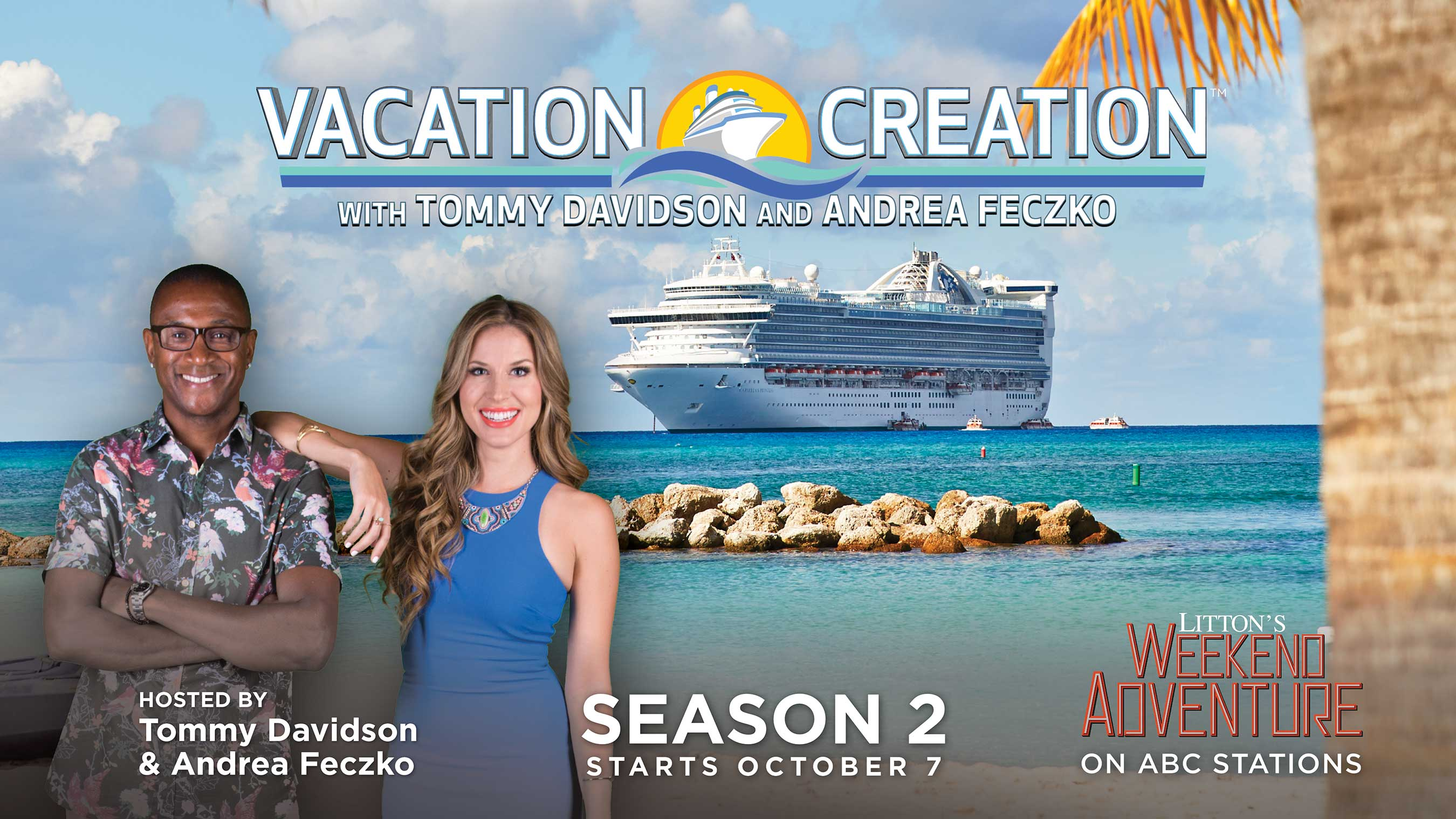 Vacation Creation Poster – Season 2