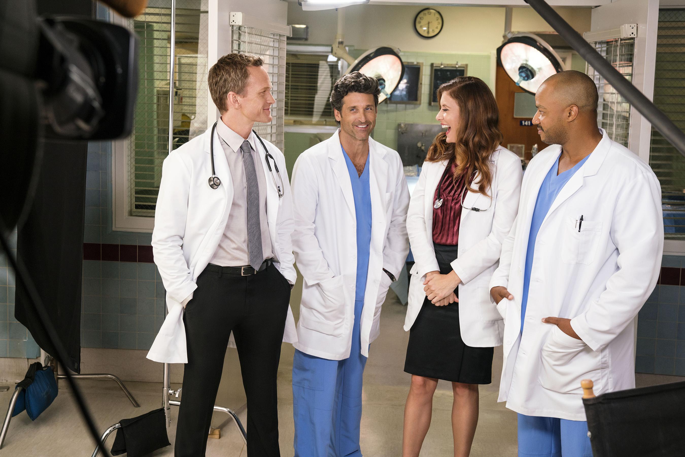TV Doctors Ensemble Pose