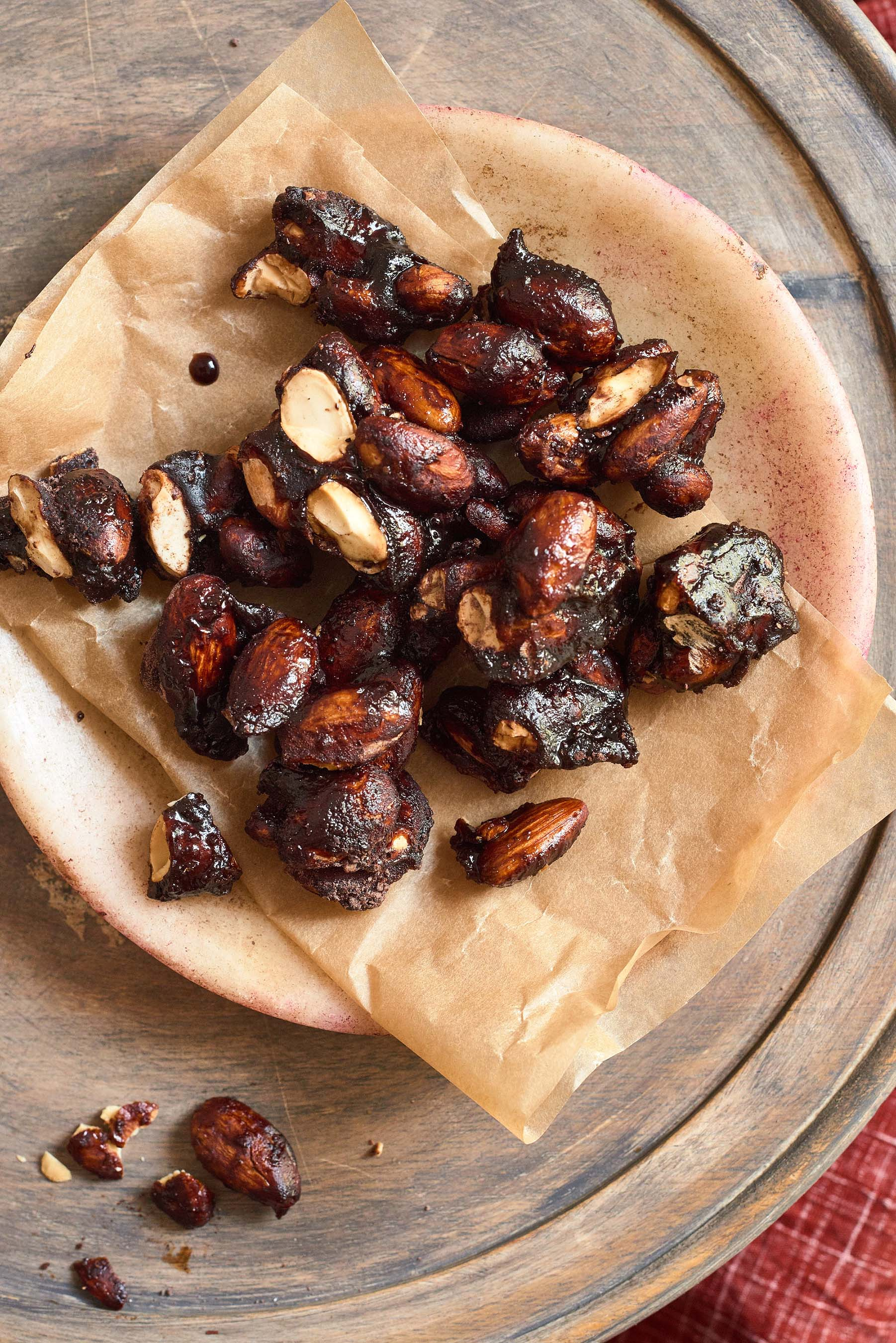 Chocolate Coffee Almonds created by Alex Guarnaschelli for Folgers® Simply Gourmet™