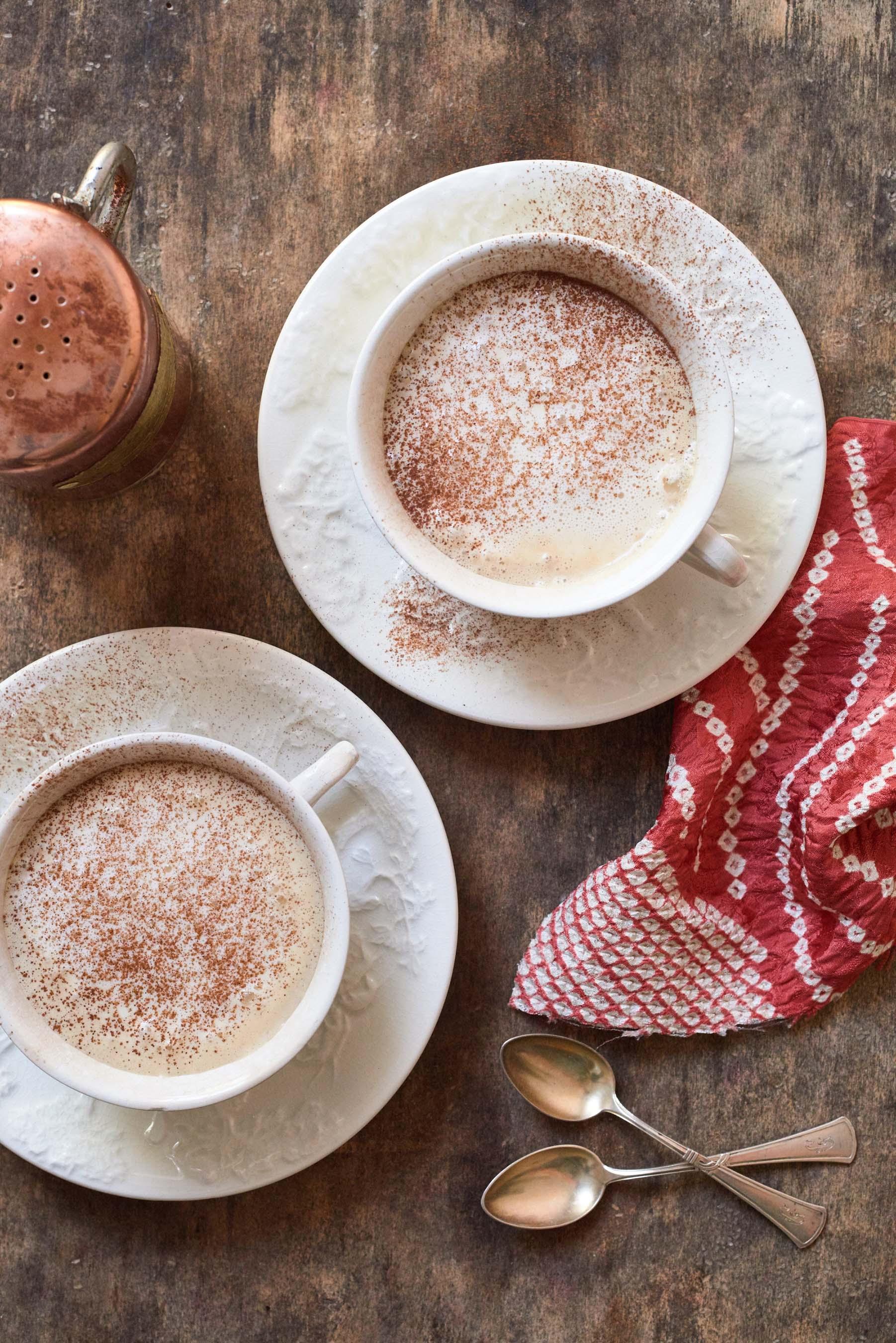 Cinnamon Pumpkin Pie Spice Latte created by Alex Guarnaschelli for Folgers® Simply Gourmet™