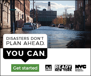Disasters Don't Plan Ahead Flood Web banner