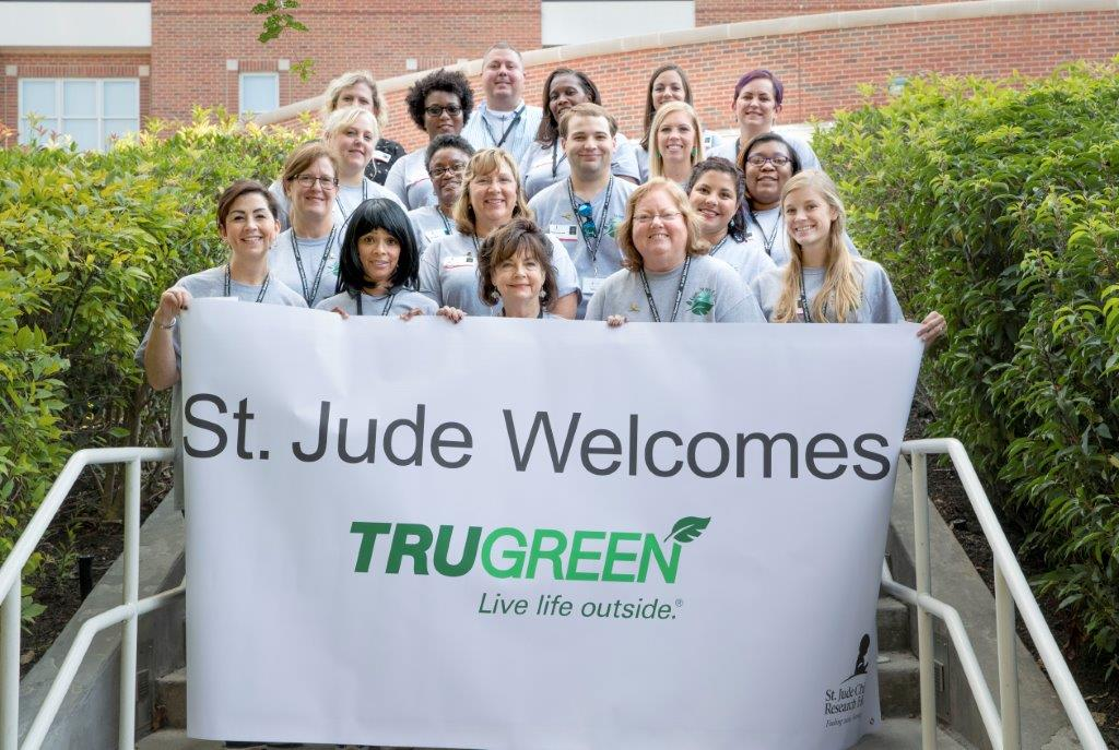 TruGreen associates hosted a give-back event benefiting the patients and families at St. Jude Children's Research Hospital® in recognition of National Childhood Cancer Awareness Month.