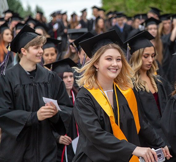 For online public school students from Maine to California, commencement ceremonies hold another special meaning--an opportunity for students and teachers to celebrate with one another face-to-face.