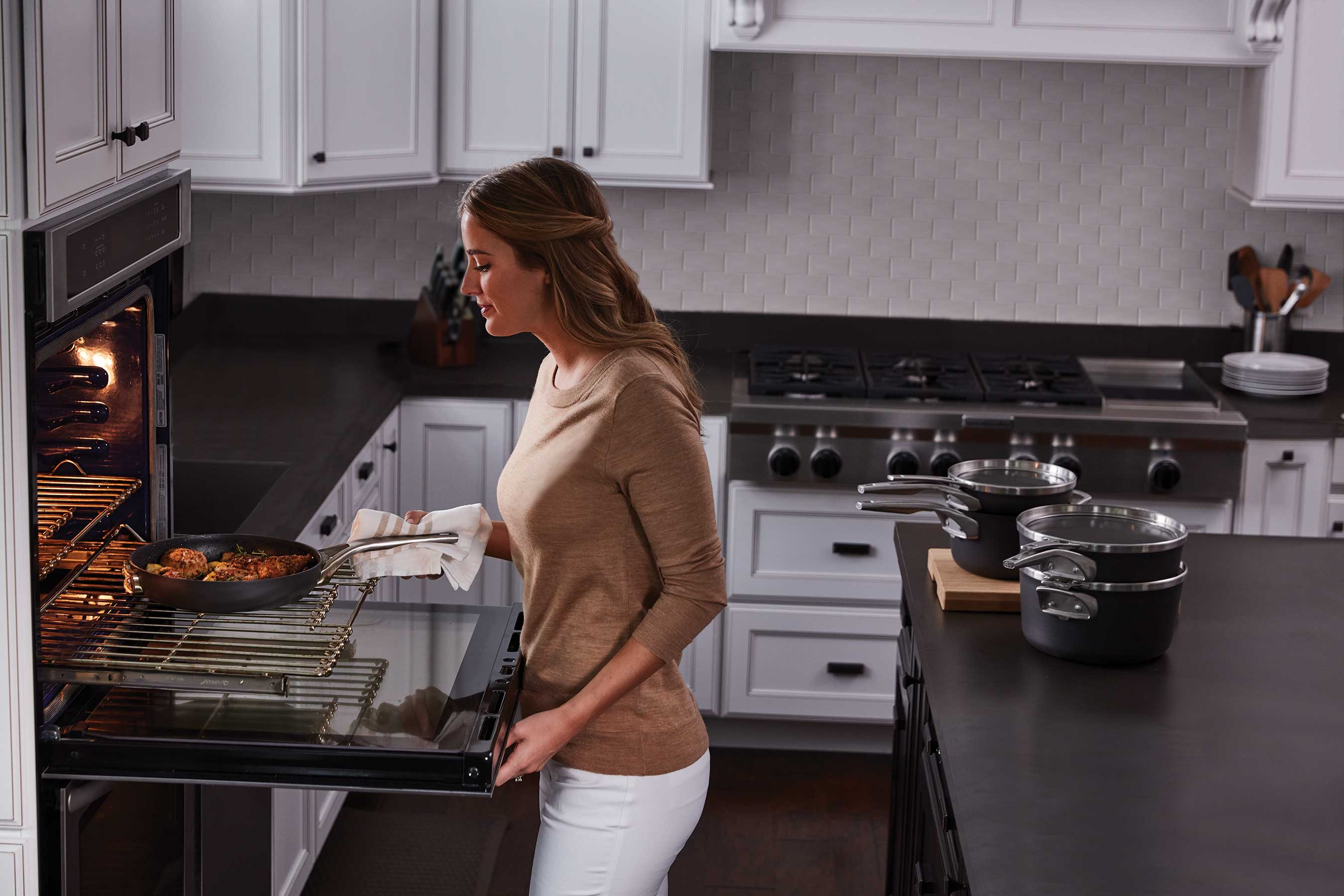 Calphalon Introduces Calphalon Premier™ Space Saving Nonstick and Stainless Steel Cookware