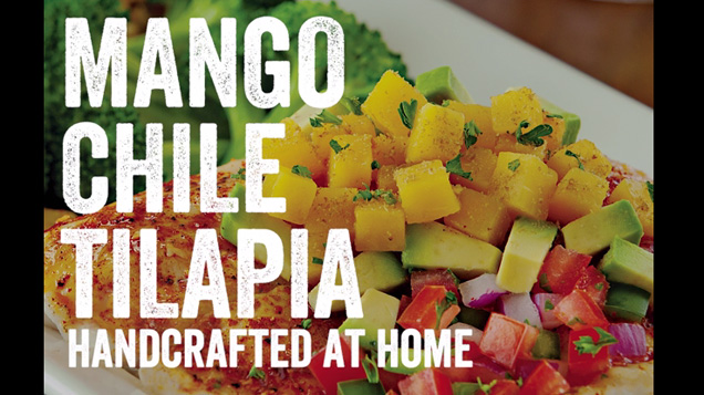 How to make Chili's Mango-Chile Tilapia at home.