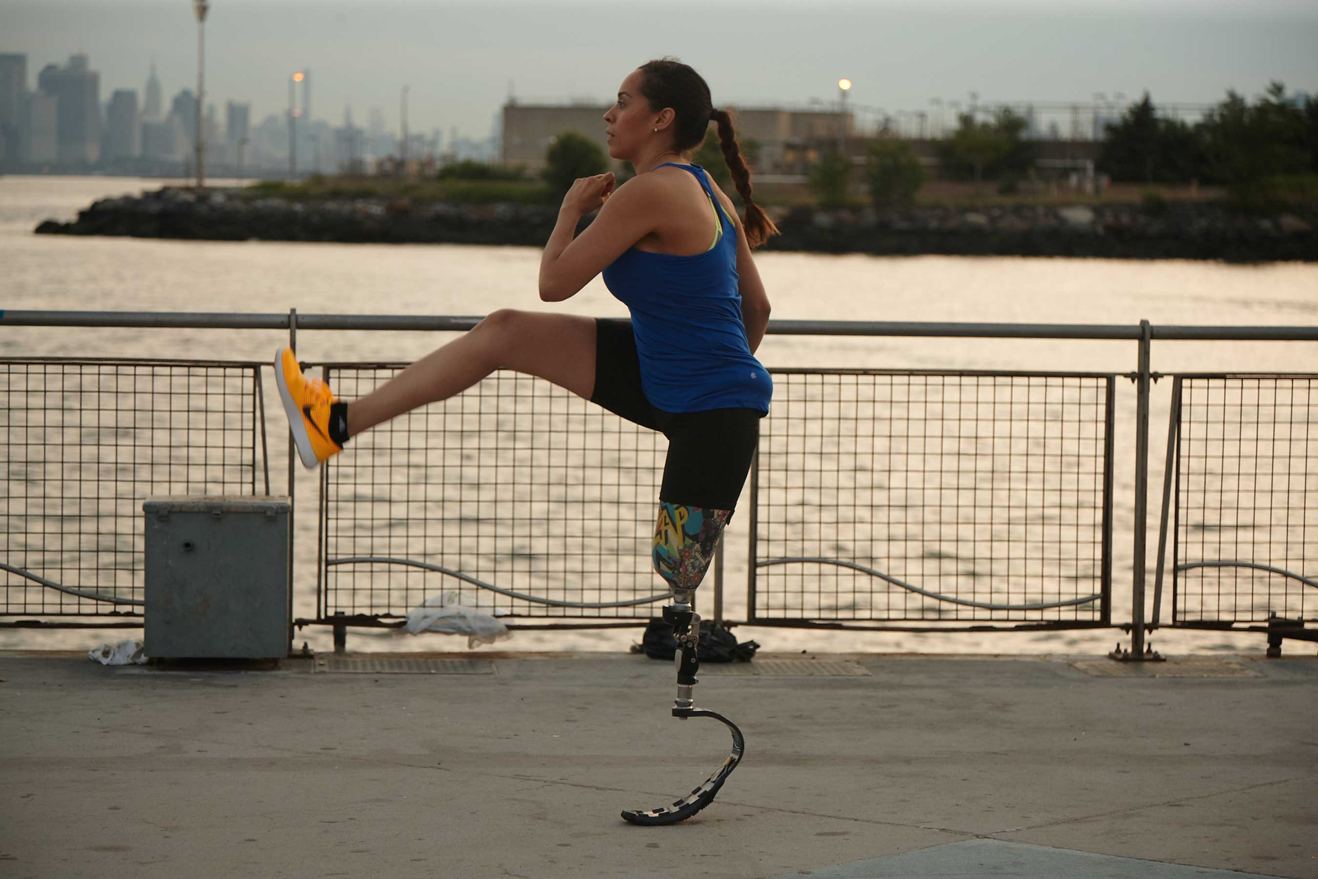 As a teacher, athlete, and mother of two girls, Diana was used to living up to her namesake, Wonder Woman. So when Diana lost her leg in an accident, she called on her inner passion and strength - and stepped out again into the world with unwavering confidence.