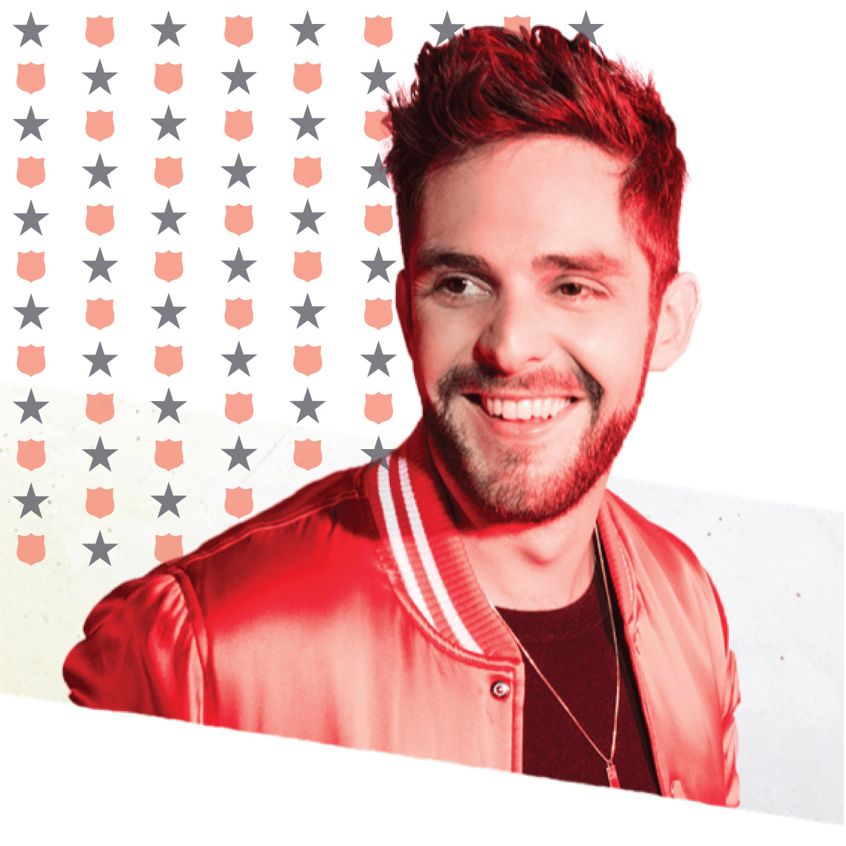 Academy of Country Music's Male Vocalist of the Year Thomas Rhett