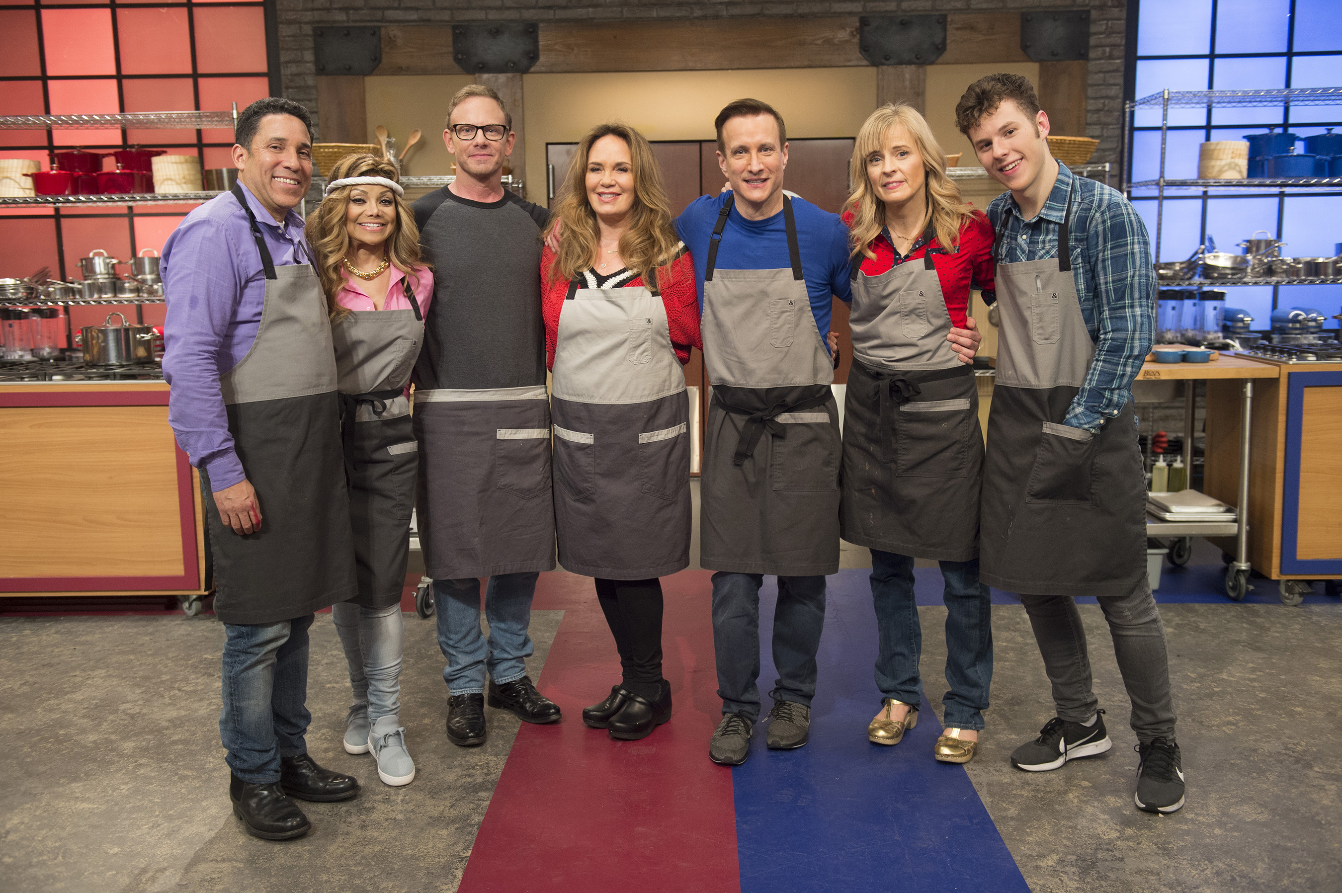 The recruits of Food Network's Worst Cooks in America: Celebrity Edition