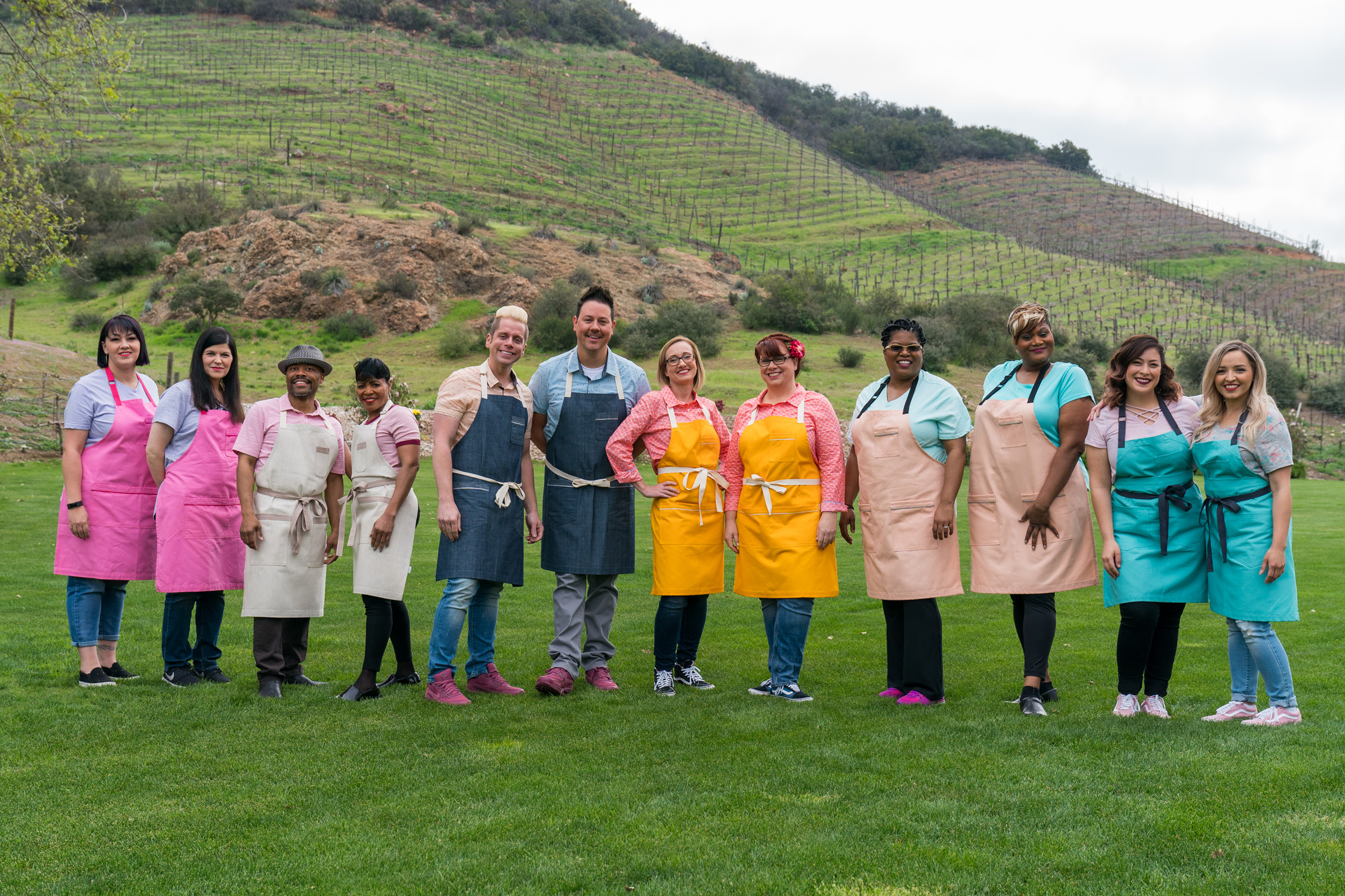 The Contestants of Food Network's Wedding Cake Championship