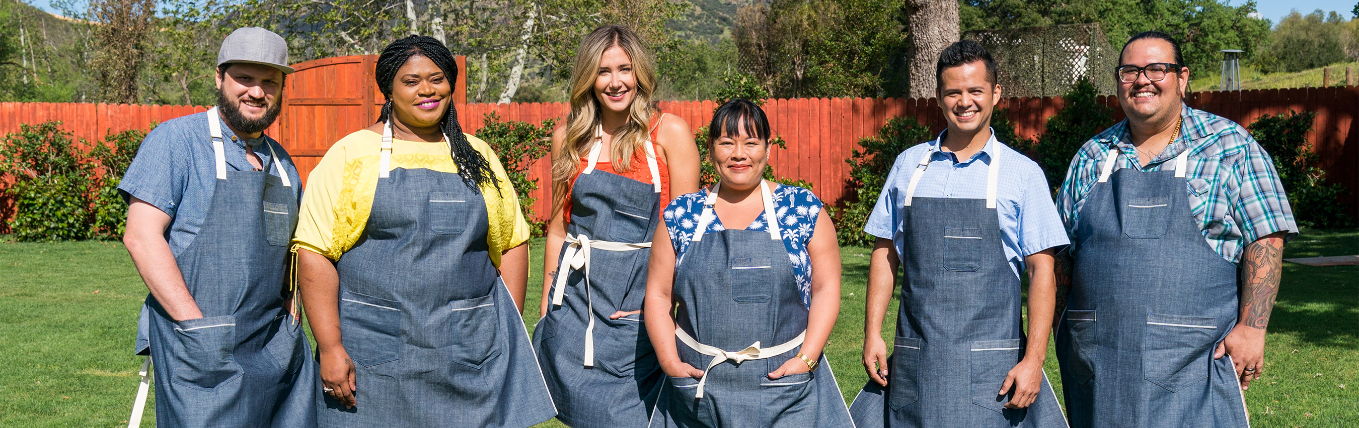 Competitors of Food Network's Ultimate Summer Cook-Off